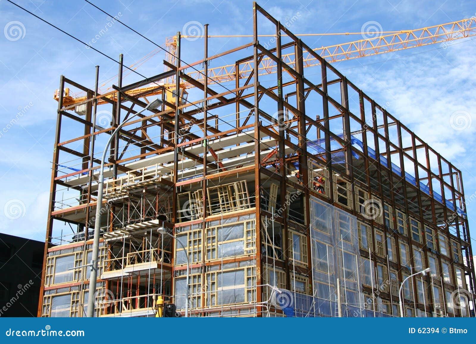 Download Chantier photo stock. Image du wellington, bleu, ville, site - 62394