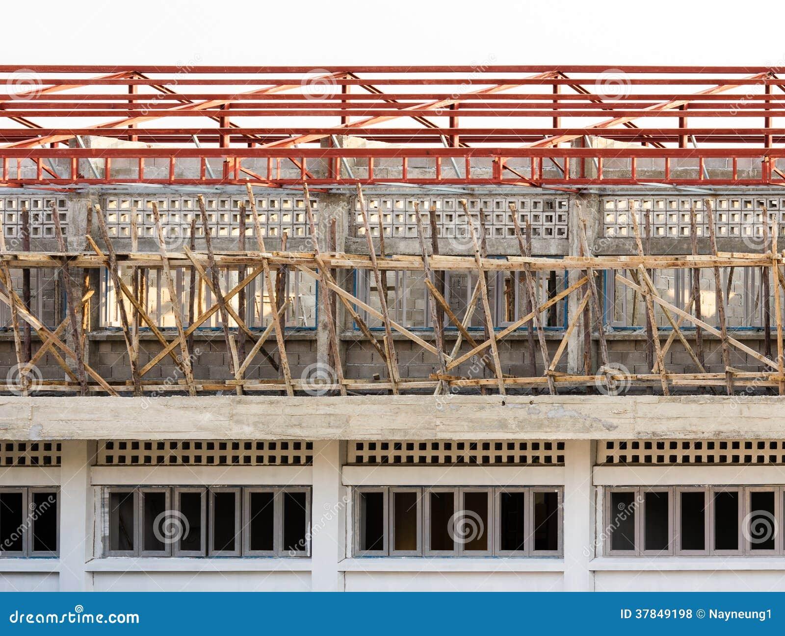Chantier de b timent et de construction en cours photos for Cours construction batiment pdf