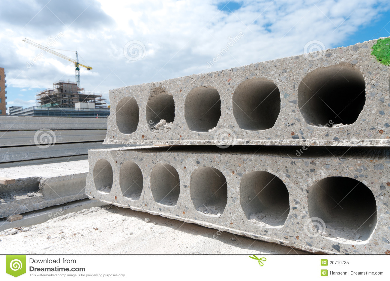 Chantier de construction image stock image du grue neuf for Prix construction neuf