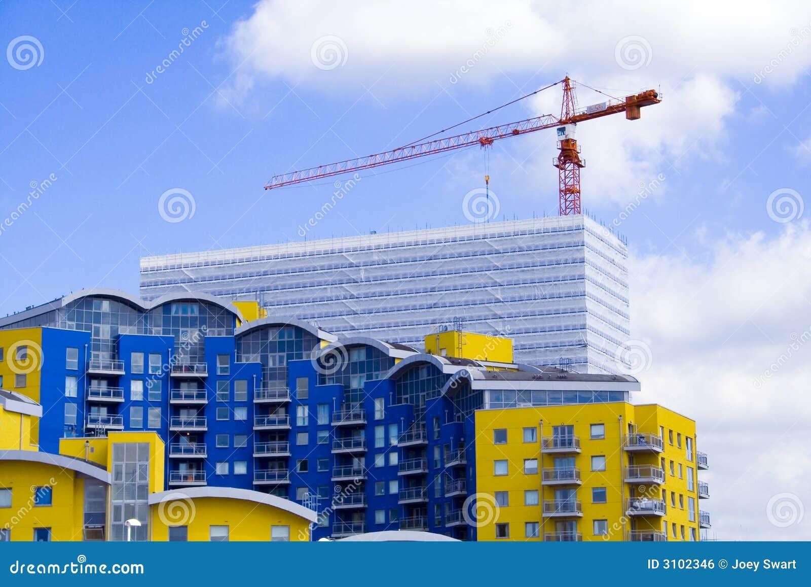 Chantier de construction image libre de droits image for Chantiers de construction