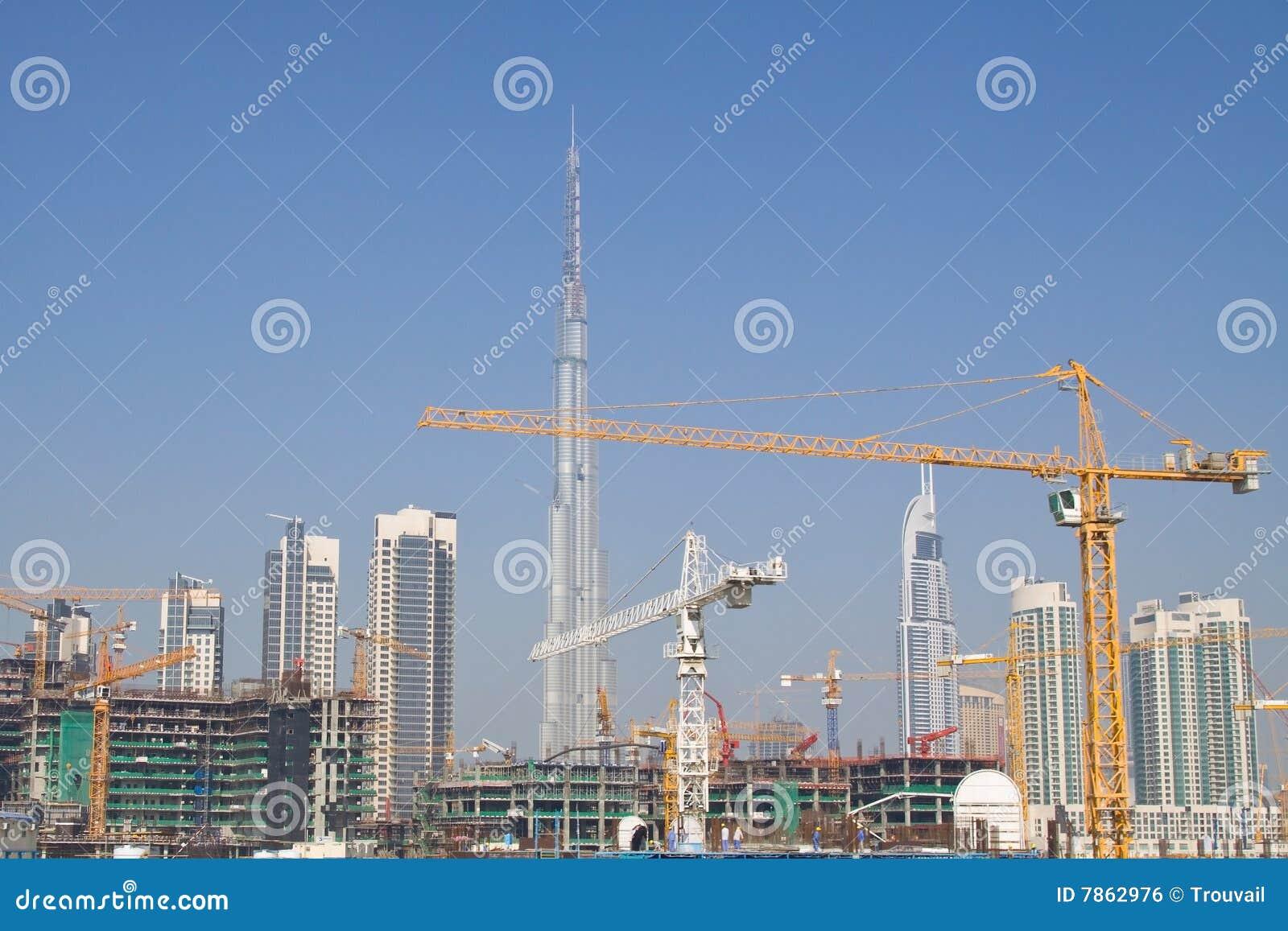 Chantier de construction de Dubaï