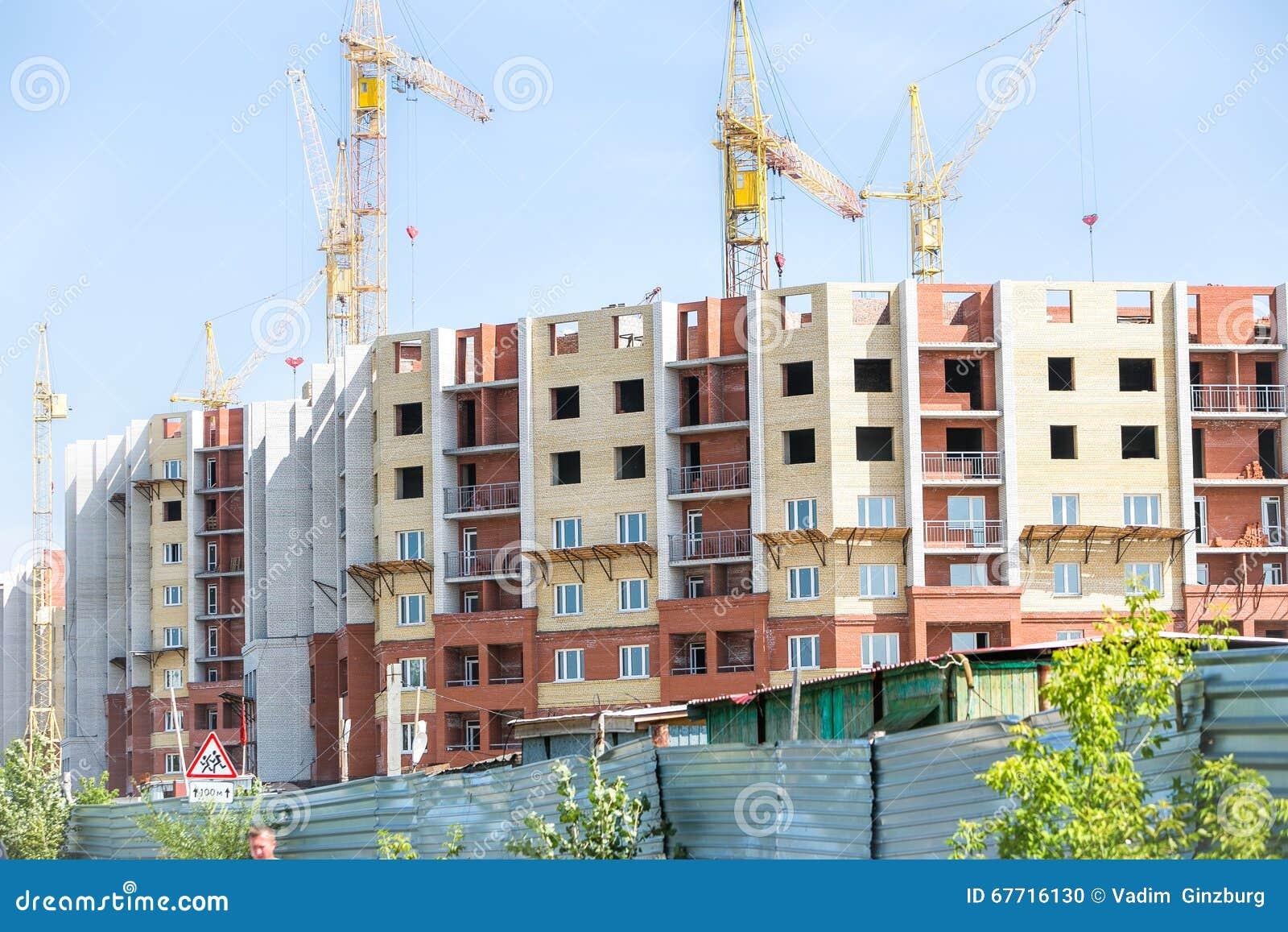 Chantier Et Robinet De Construction Photo Stock Image Du