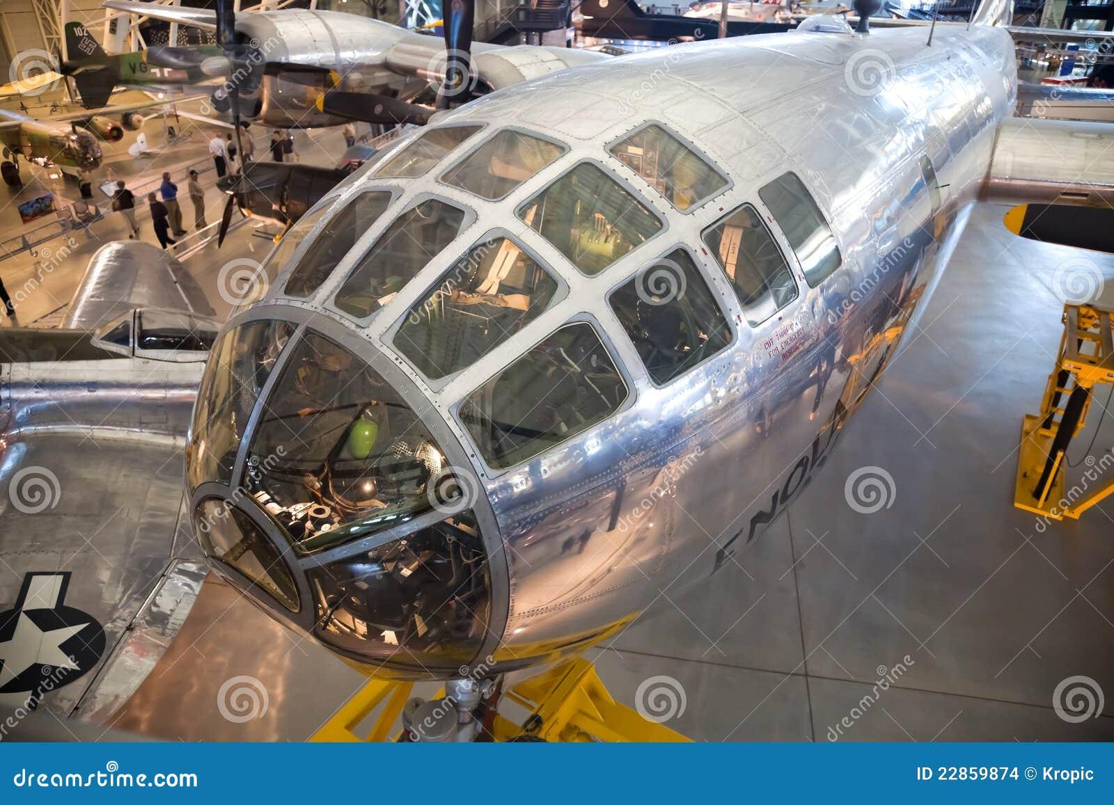 CHANTILLY, VIRGÍNIA - OUTUBRO 10: Boeing B-29