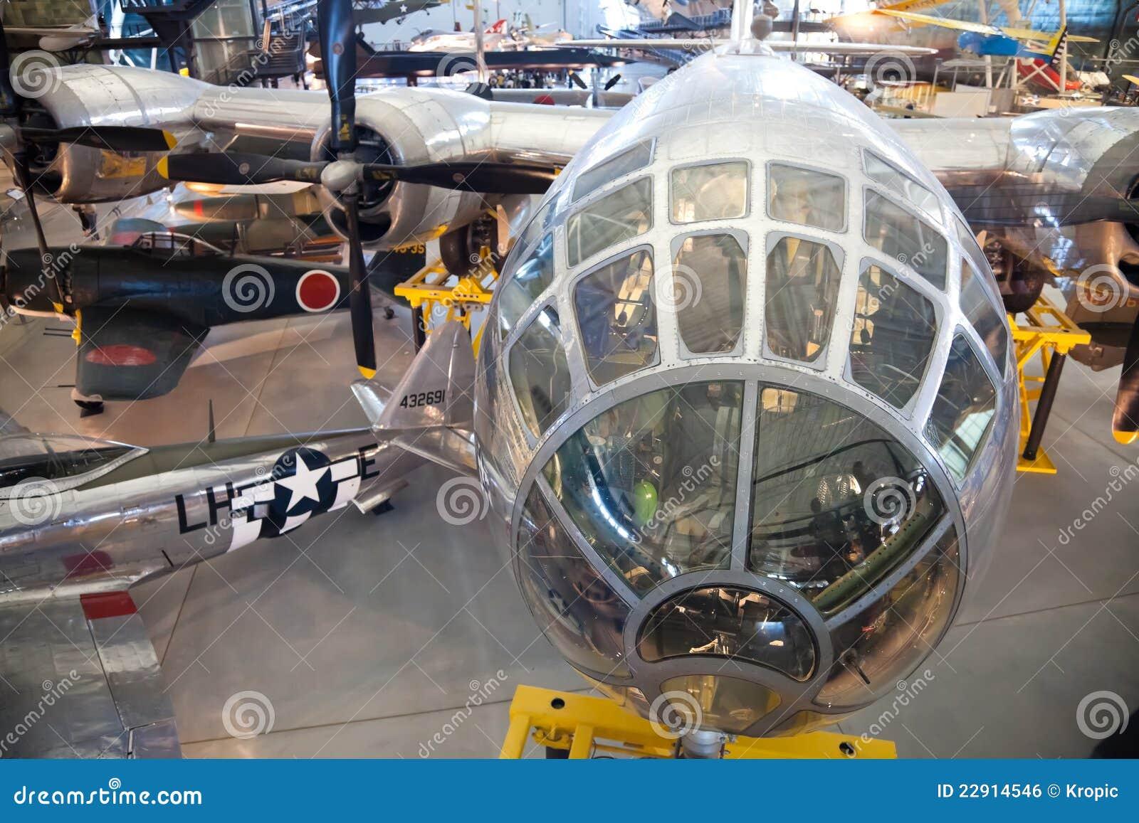 CHANTILLY, VIRGINIA - OCTOBER 10: Boeing B-29