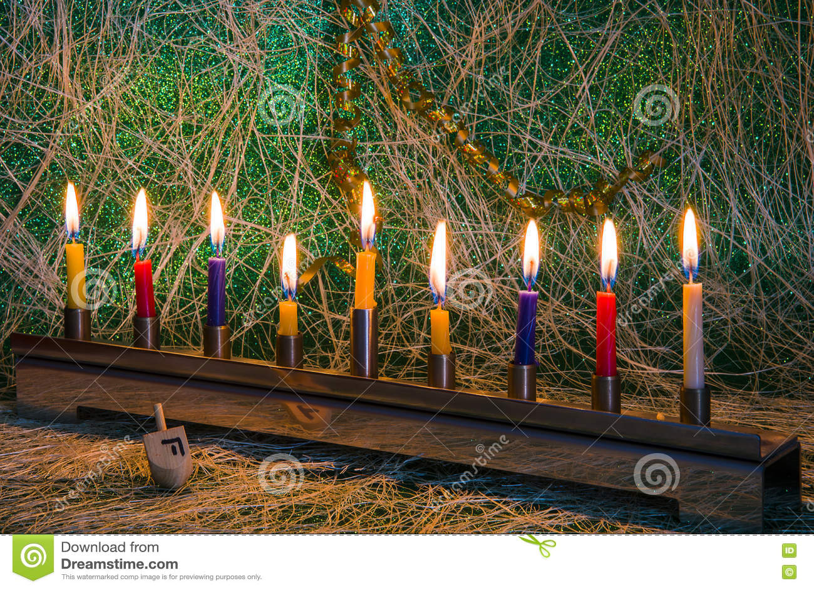 Chanukka, das jüdische Festival von Lichtern