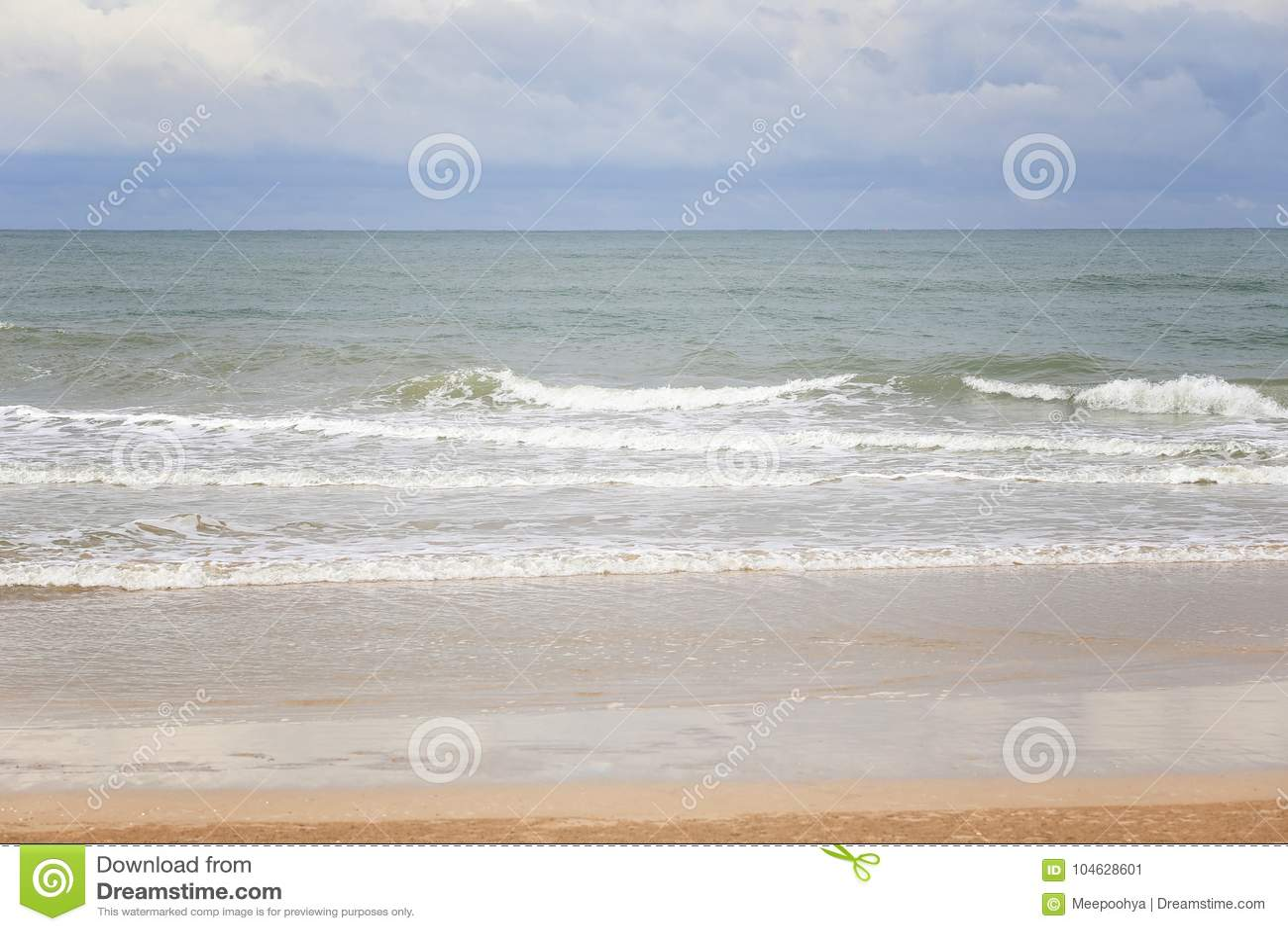 Download Chao Lao Beach, Het Strand In Chanthaburi-provincie Stock Afbeelding - Afbeelding bestaande uit achtergrond, strand: 104628601