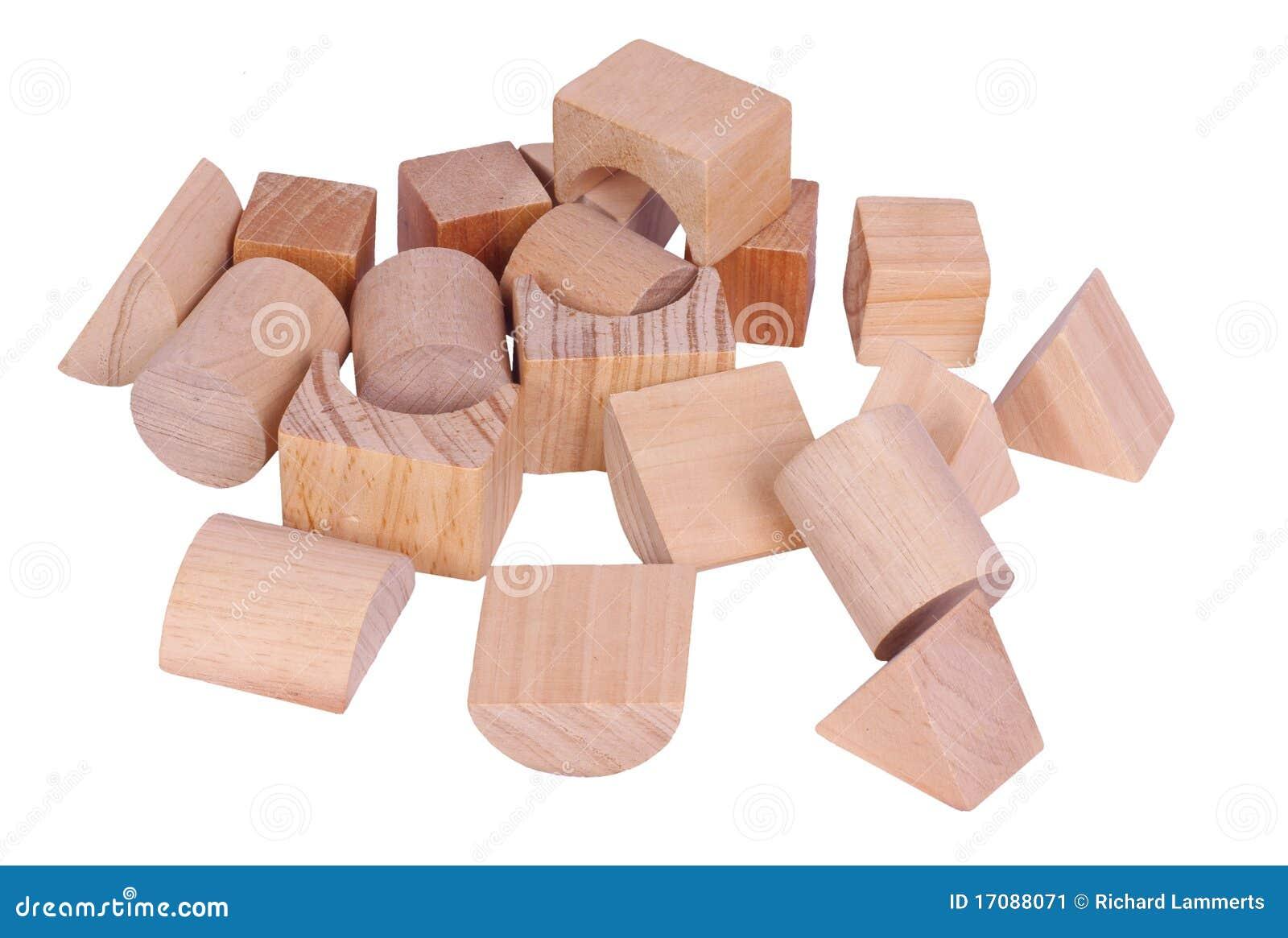 Plan Toys Wooden Building Blocks