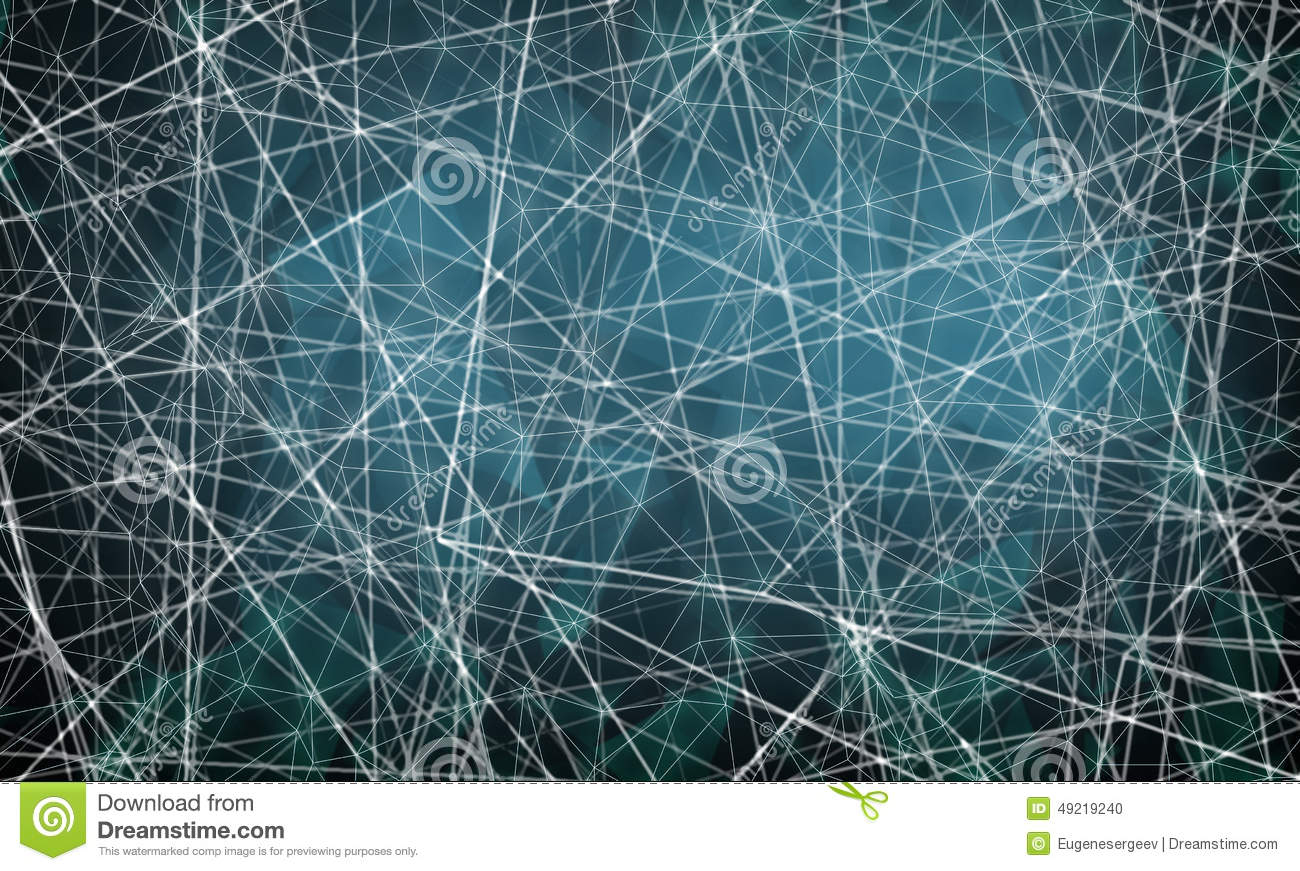 Digital Drawing Smooth Lines : Chaotic blurred lines pattern on blue background stock