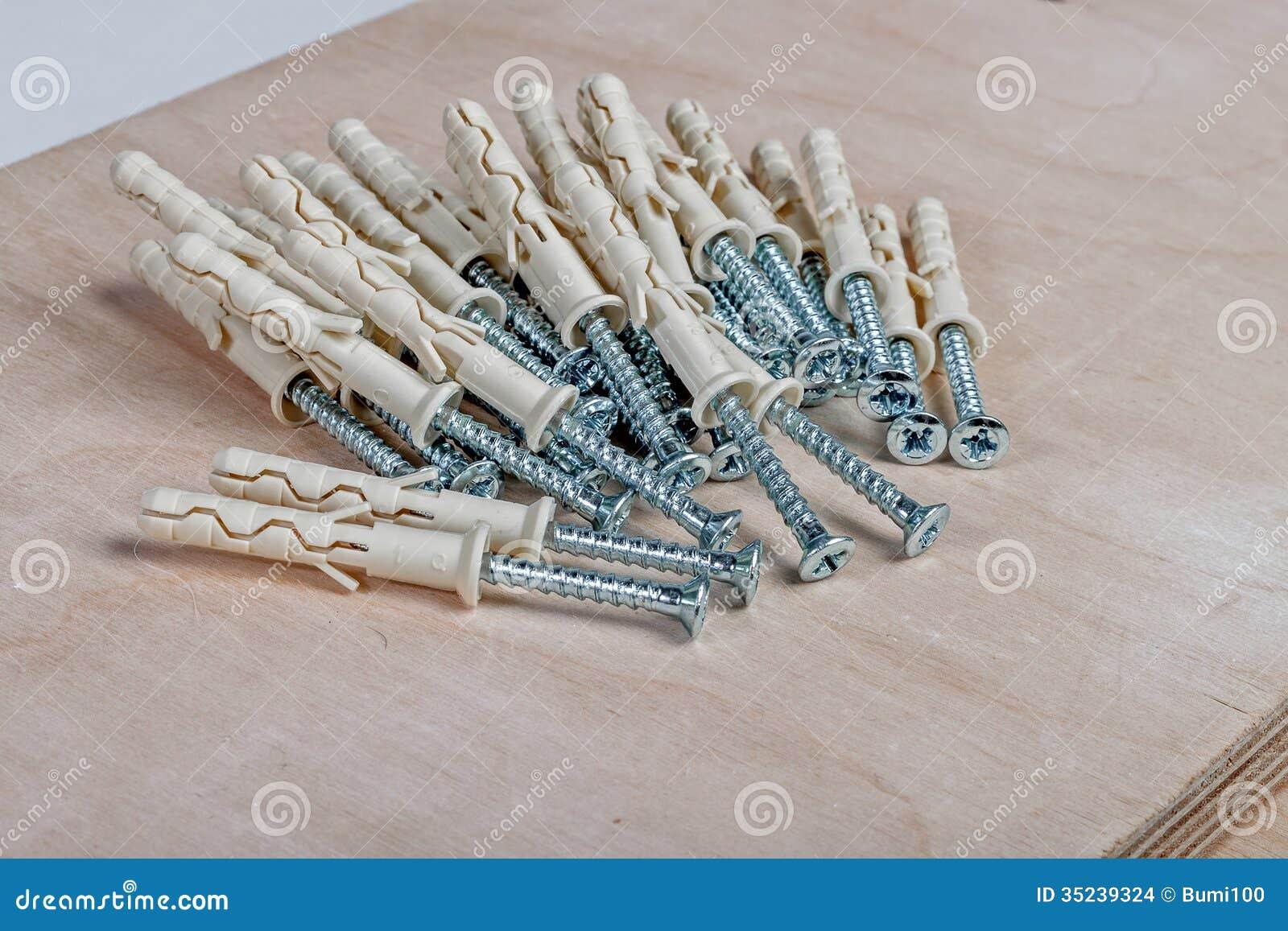plywood screws