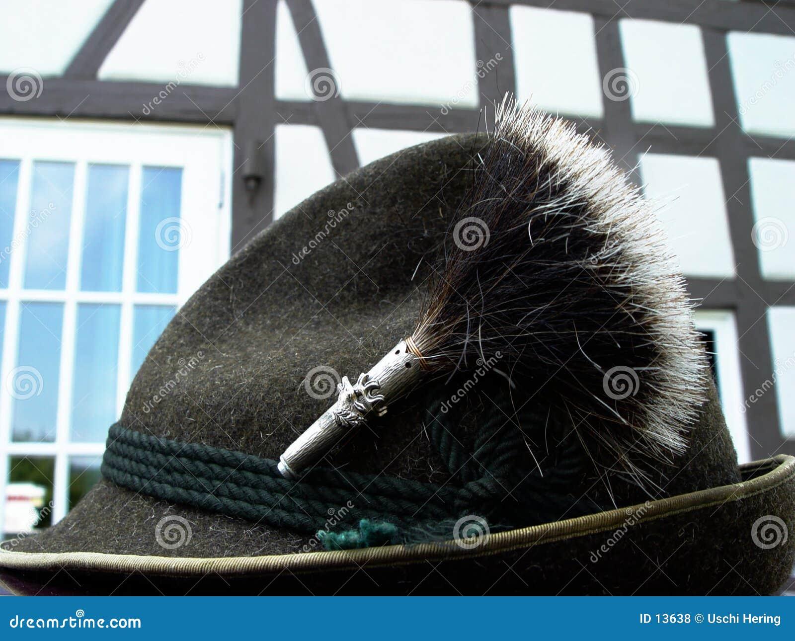 Chapéu bávaro do traje