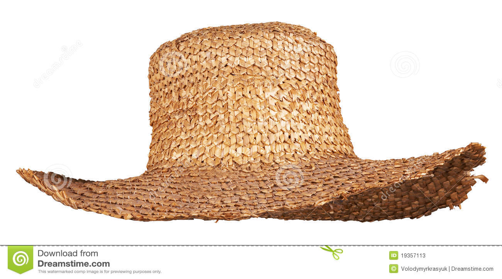 imagens de stock Chapéu De Palha De Vime Amarelo Isolado - Baixe 250 ... 4dac64d409e
