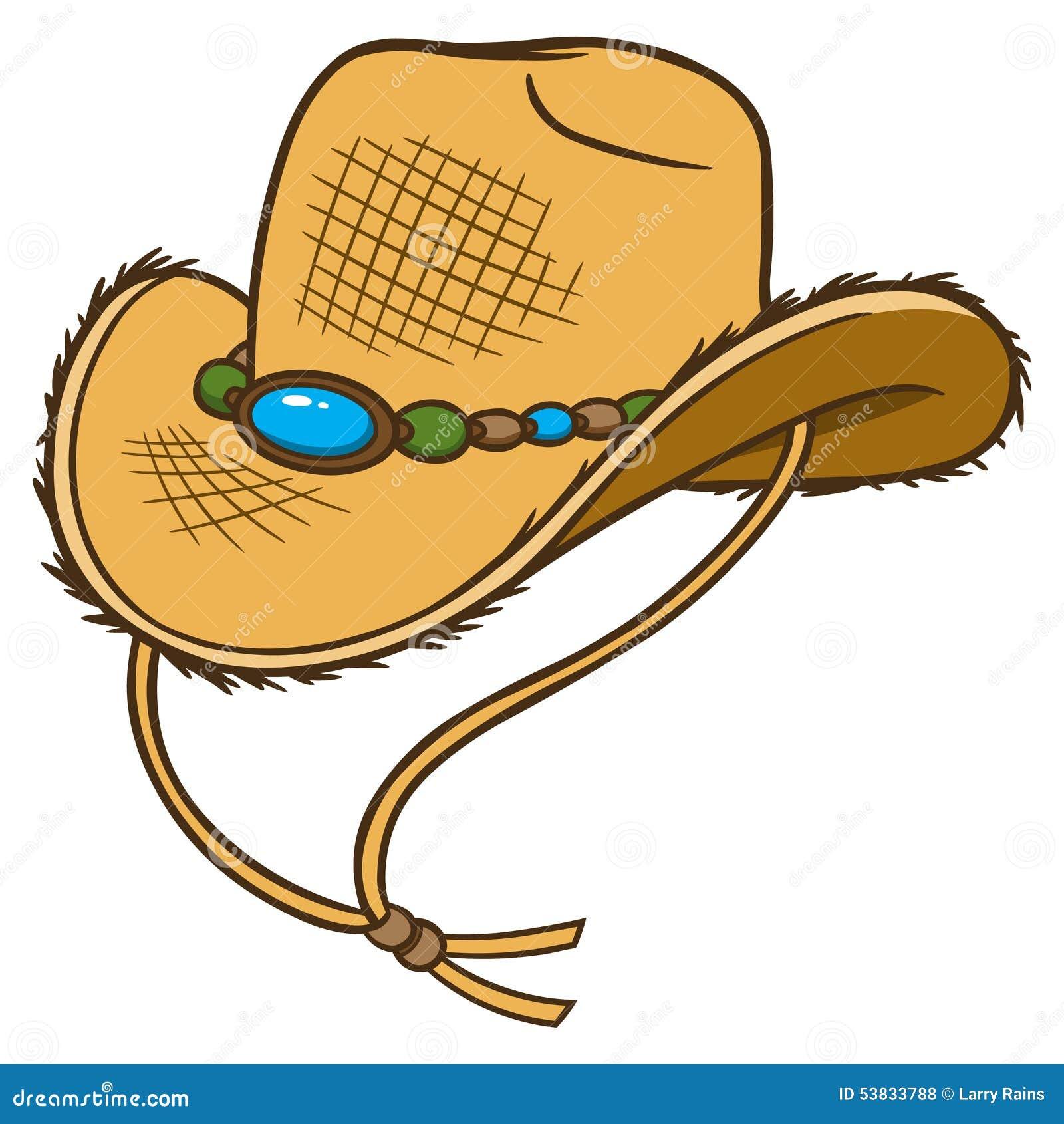 Chapéu De Palha Do Vaqueiro Ilustração do Vetor - Ilustração de ... 99045e20d4b