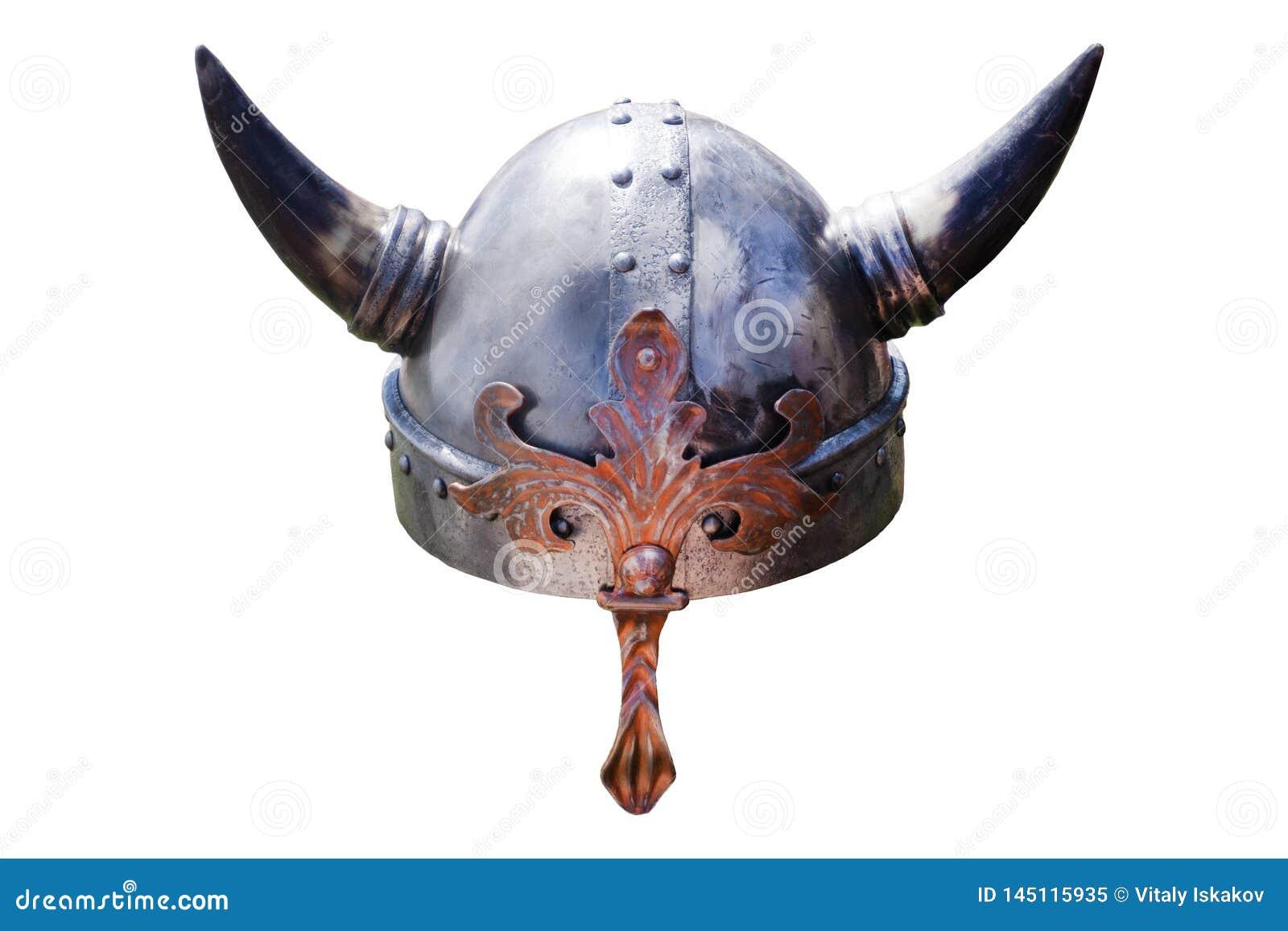 Chapéu de Viking com chifres grandes Inglaterra vazia