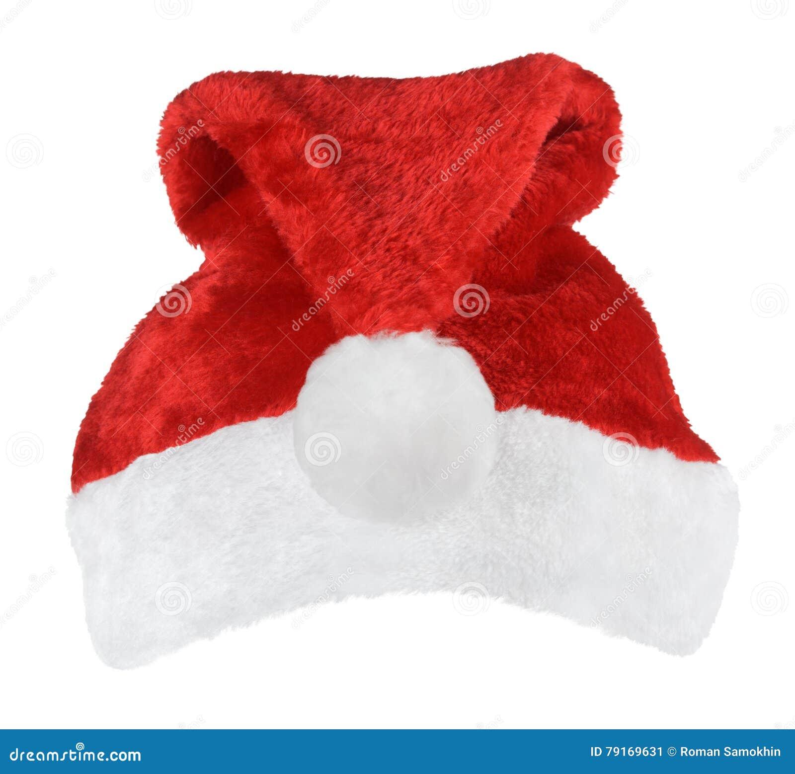 Chapéu do vermelho de Santa Claus
