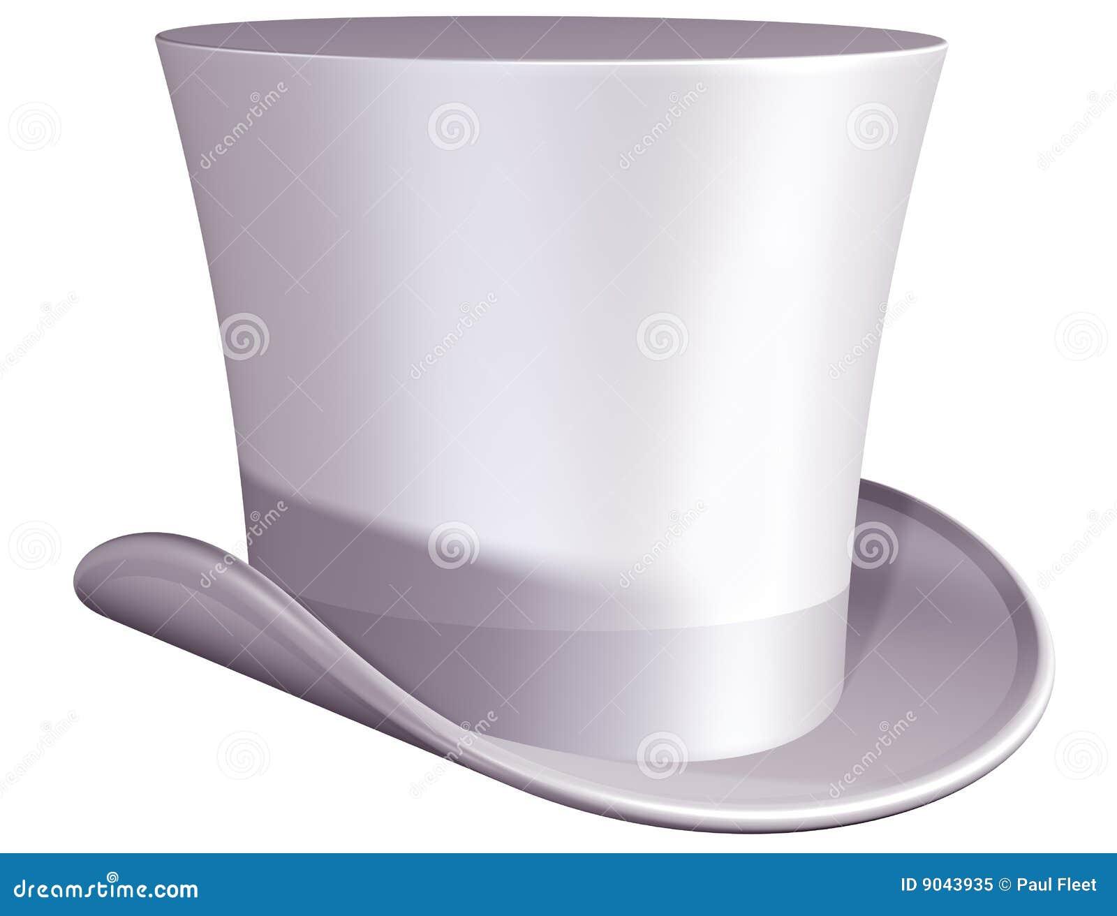 Chapéu superior para um casamento