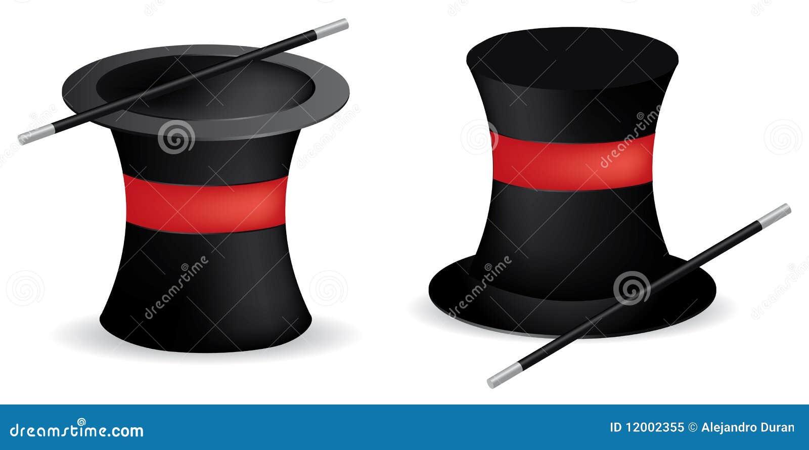 Chapéus do mágico