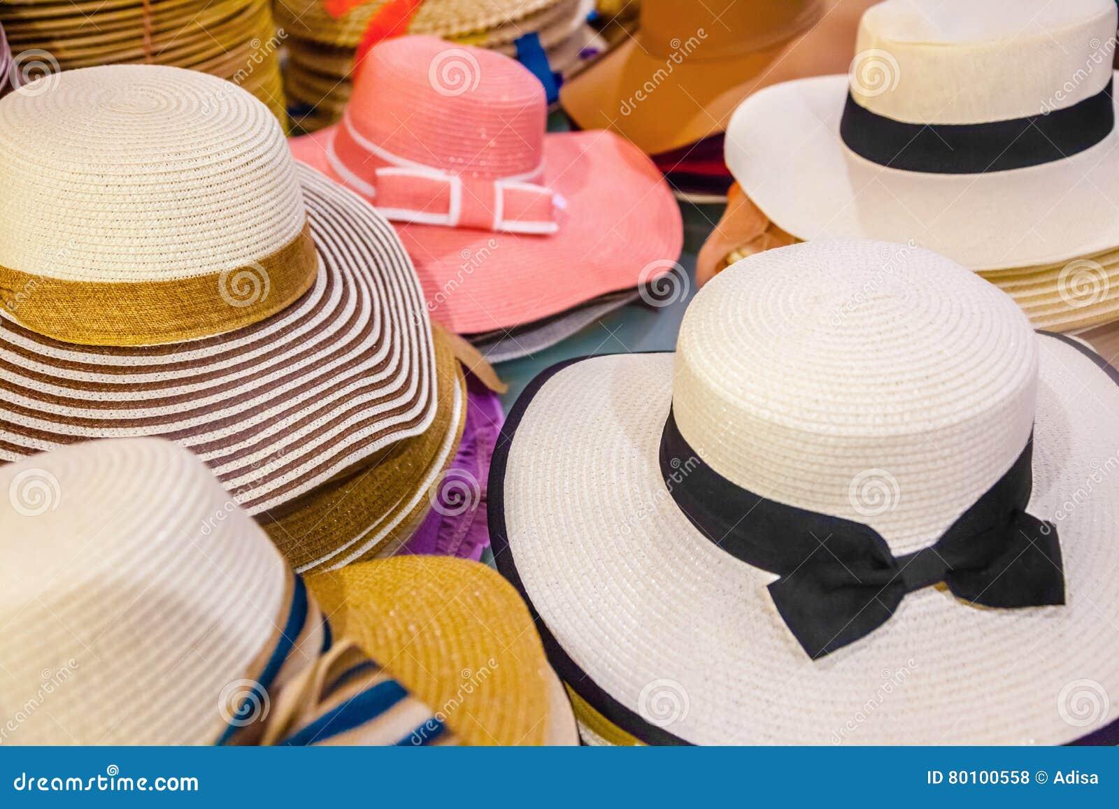 Chapéus do verão