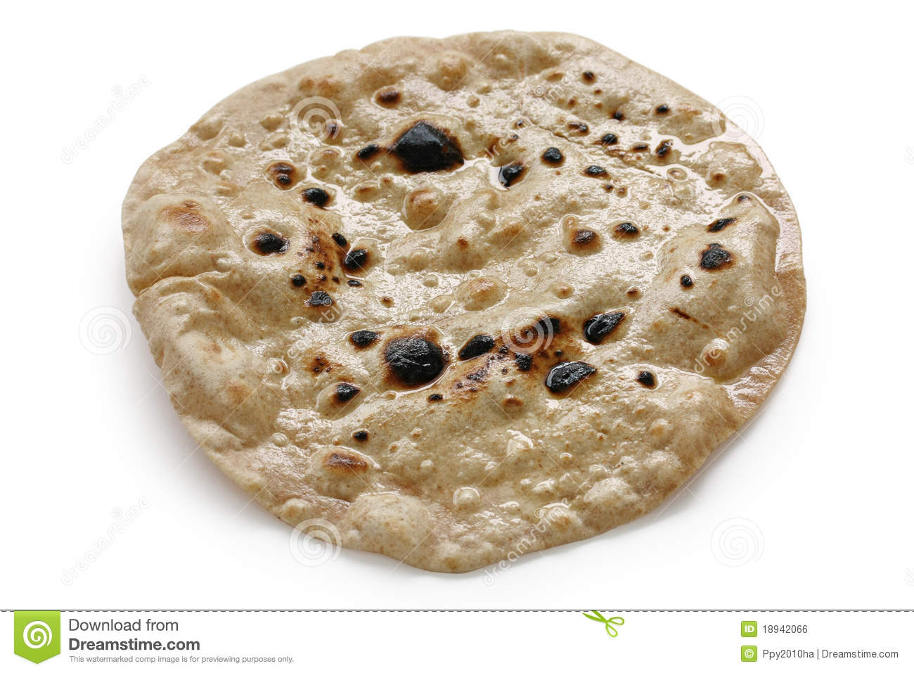 Chapati , Flat Indian Bread Royalty Free Stock Image - Image: 18942066