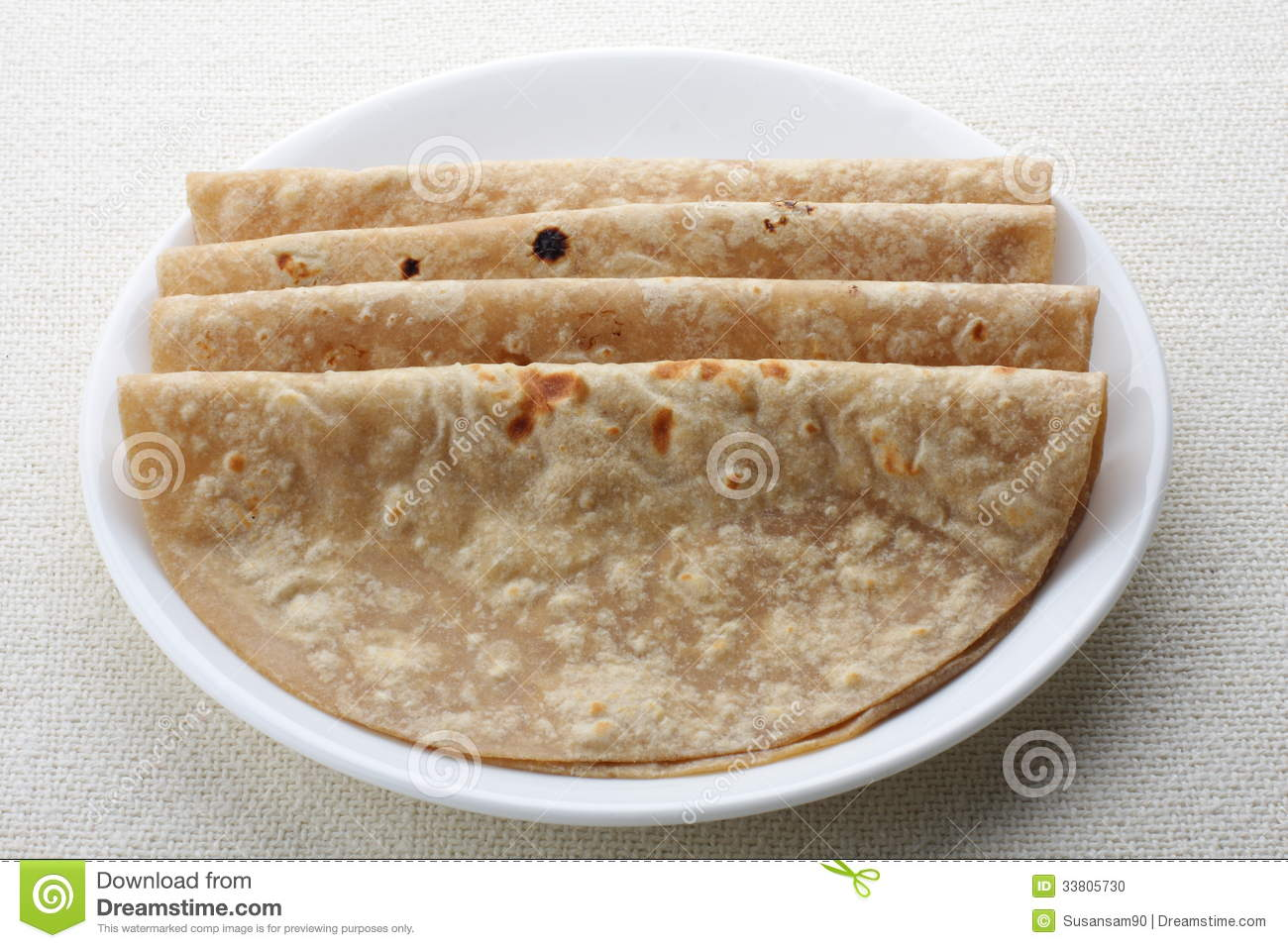 Chapati stock photo. Image of dinner, dish, basic, heavy ...