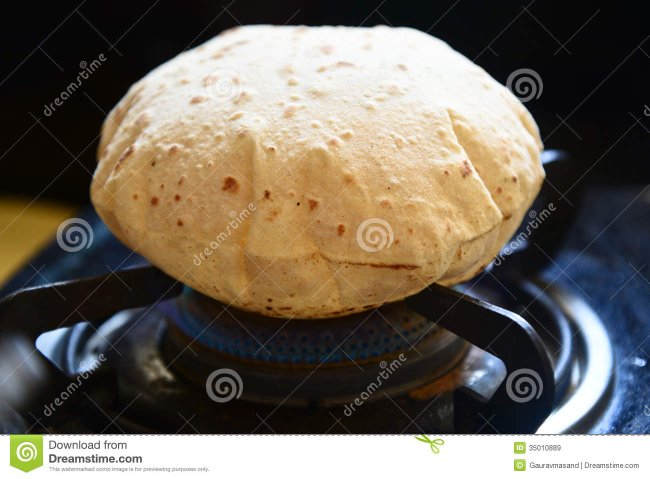 Chapati indien