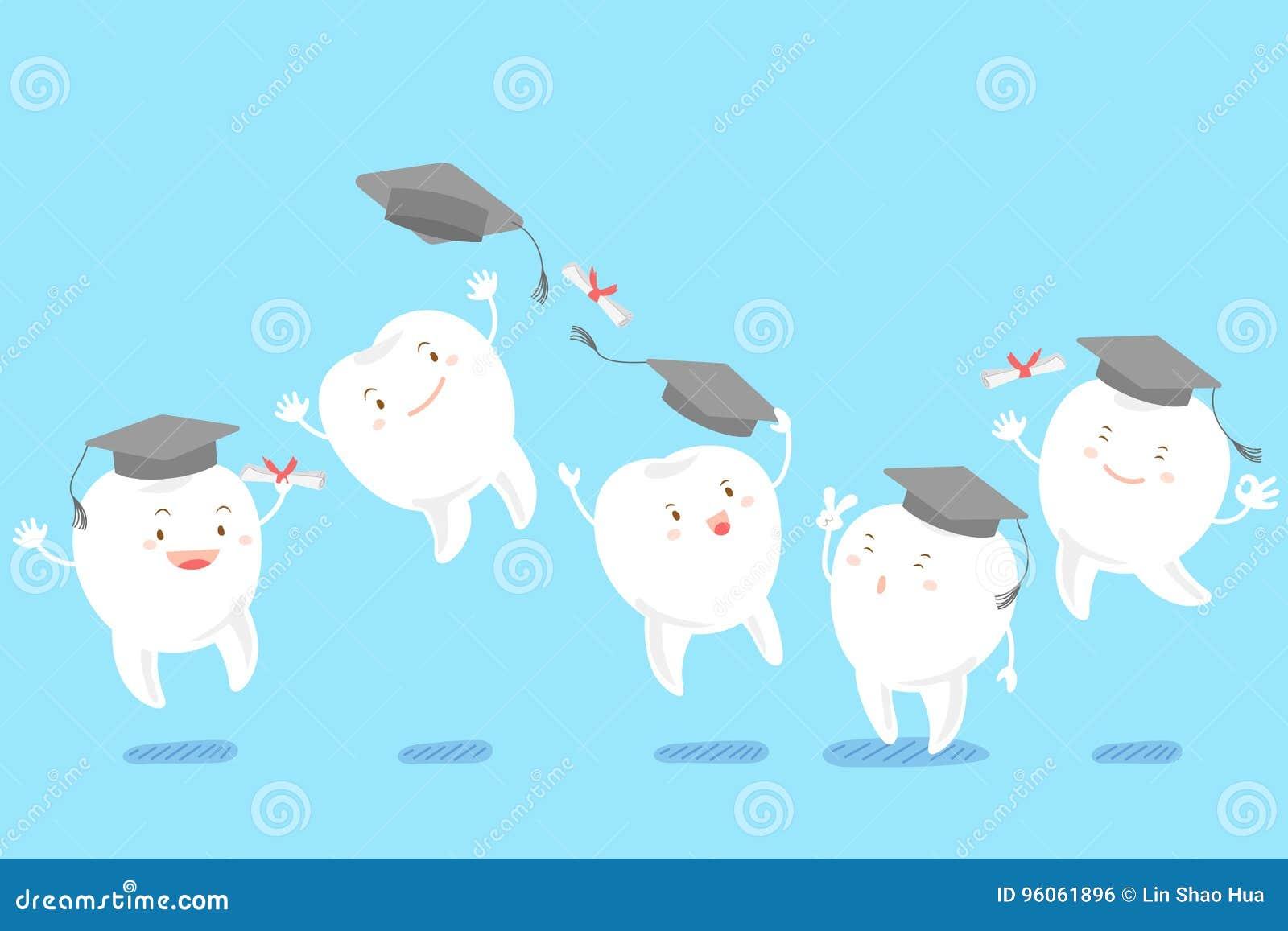 Chapeau d obtention du diplôme de prise de dent
