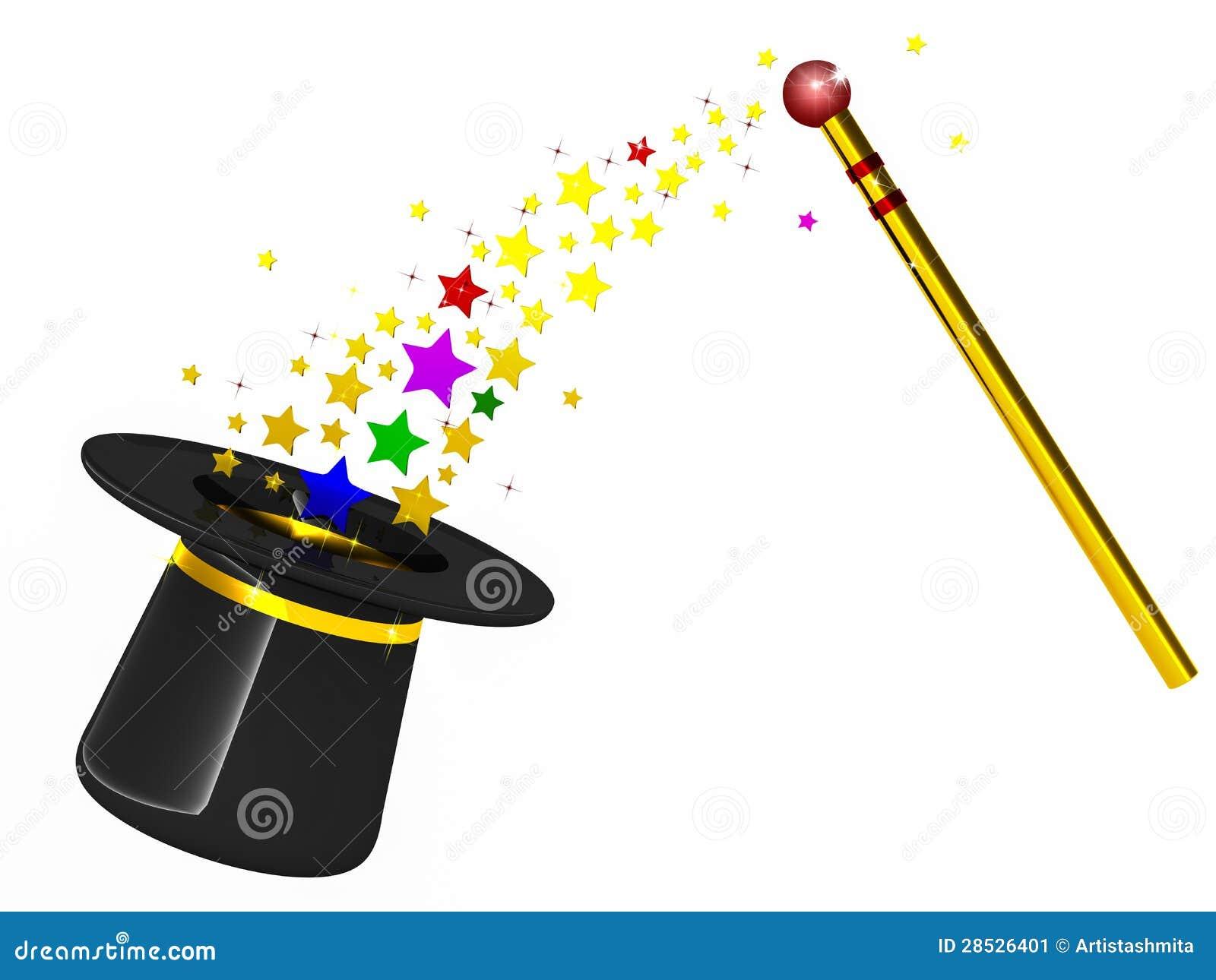 Chapeau magicien - Dessin de chapeau de magicien ...