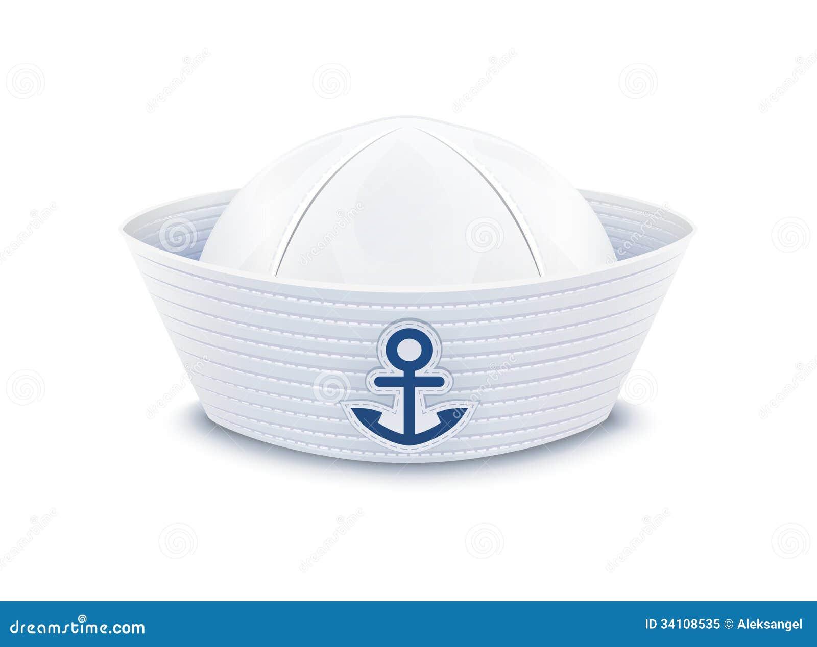 chapeau de marin photo libre de droits image 34108535. Black Bedroom Furniture Sets. Home Design Ideas