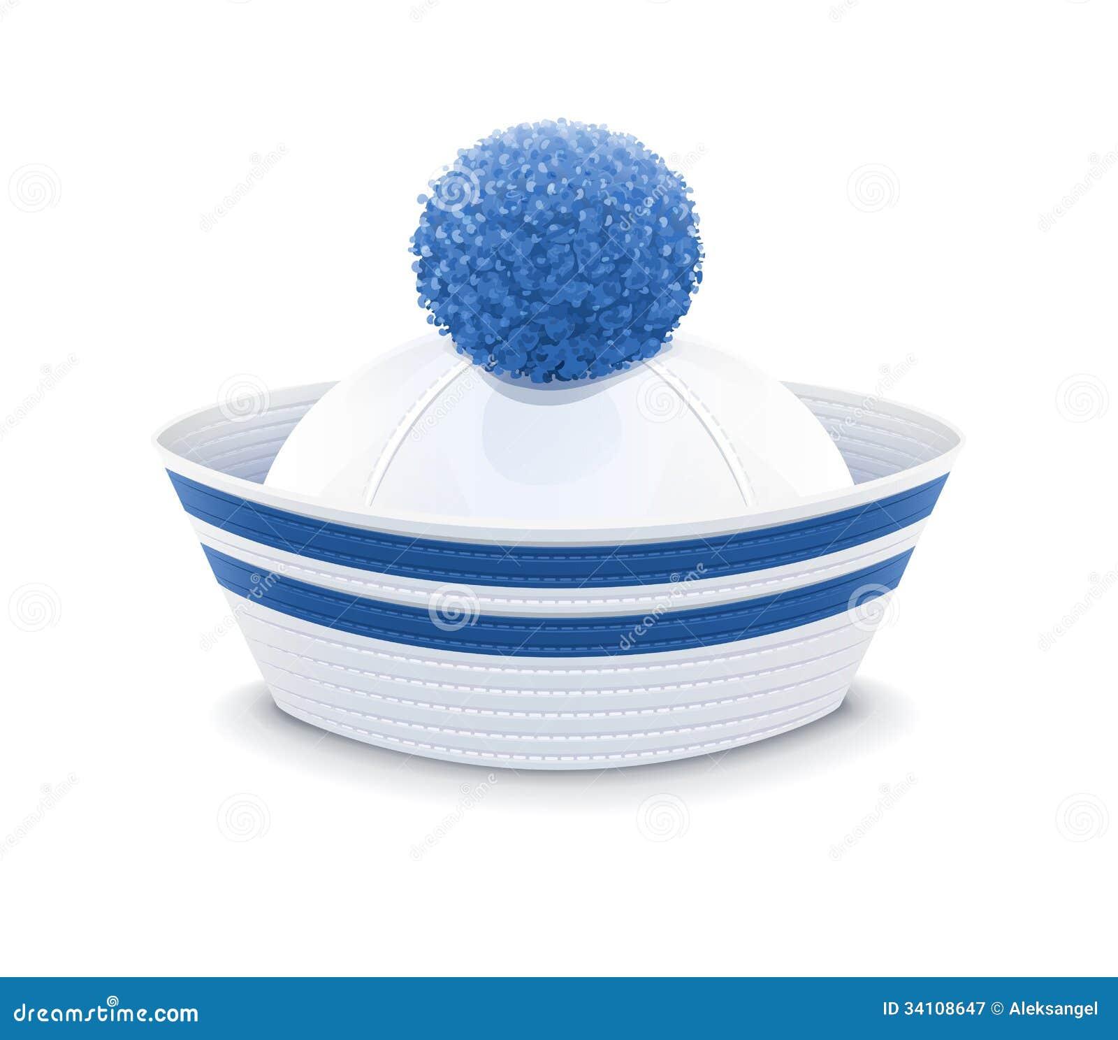 chapeau de marin illustration de vecteur image du profession 34108647. Black Bedroom Furniture Sets. Home Design Ideas