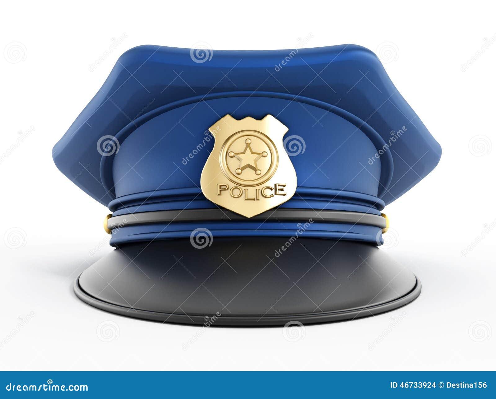 Chapeau De Police Illustration Stock Image 46733924