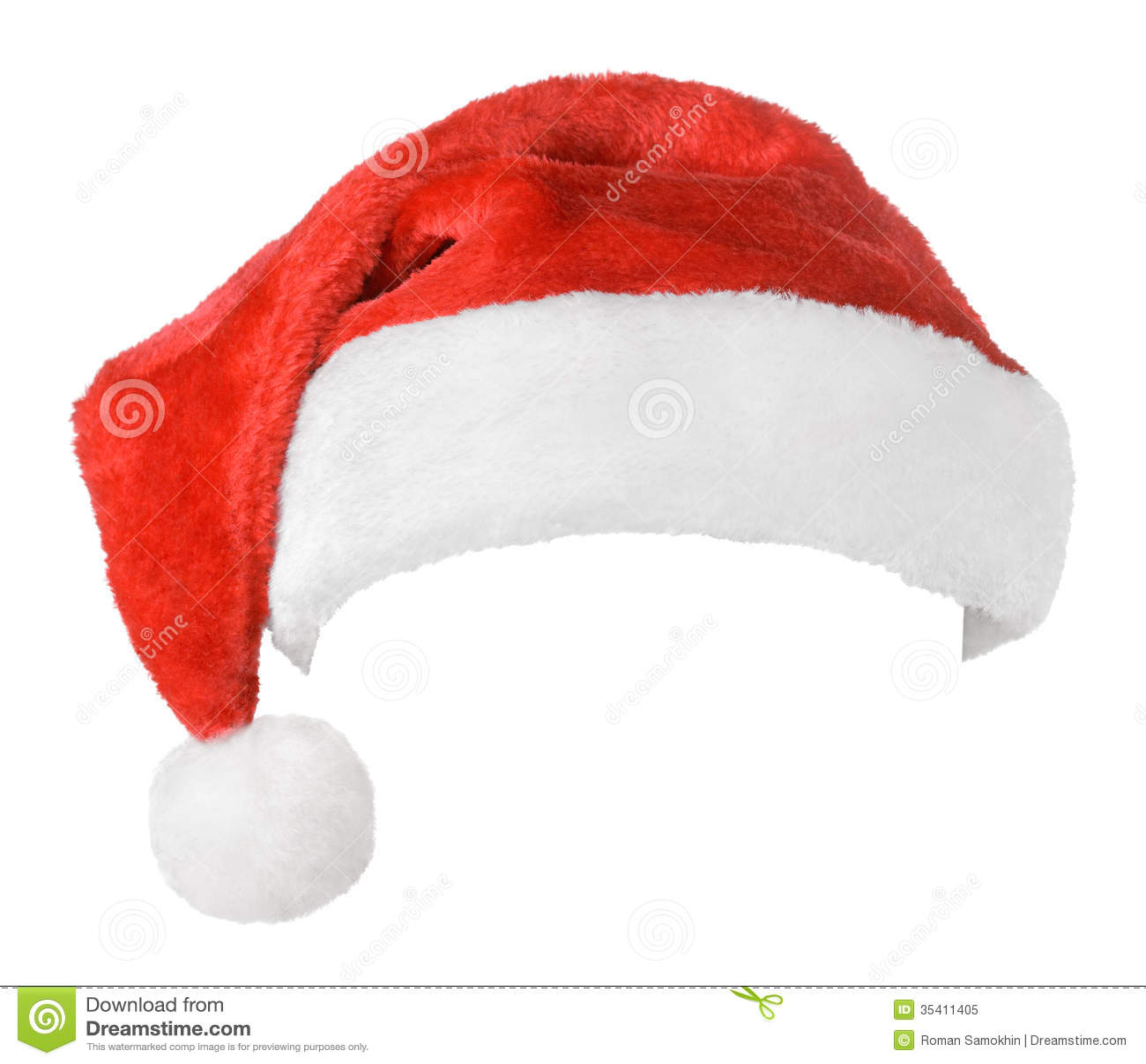 Chapeau de rouge de Santa Claus