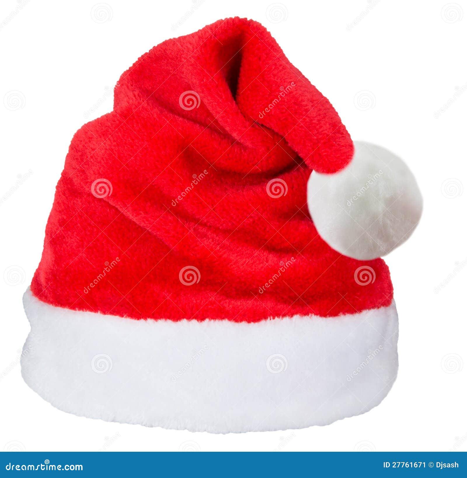 Chapeau de rouge du père noël