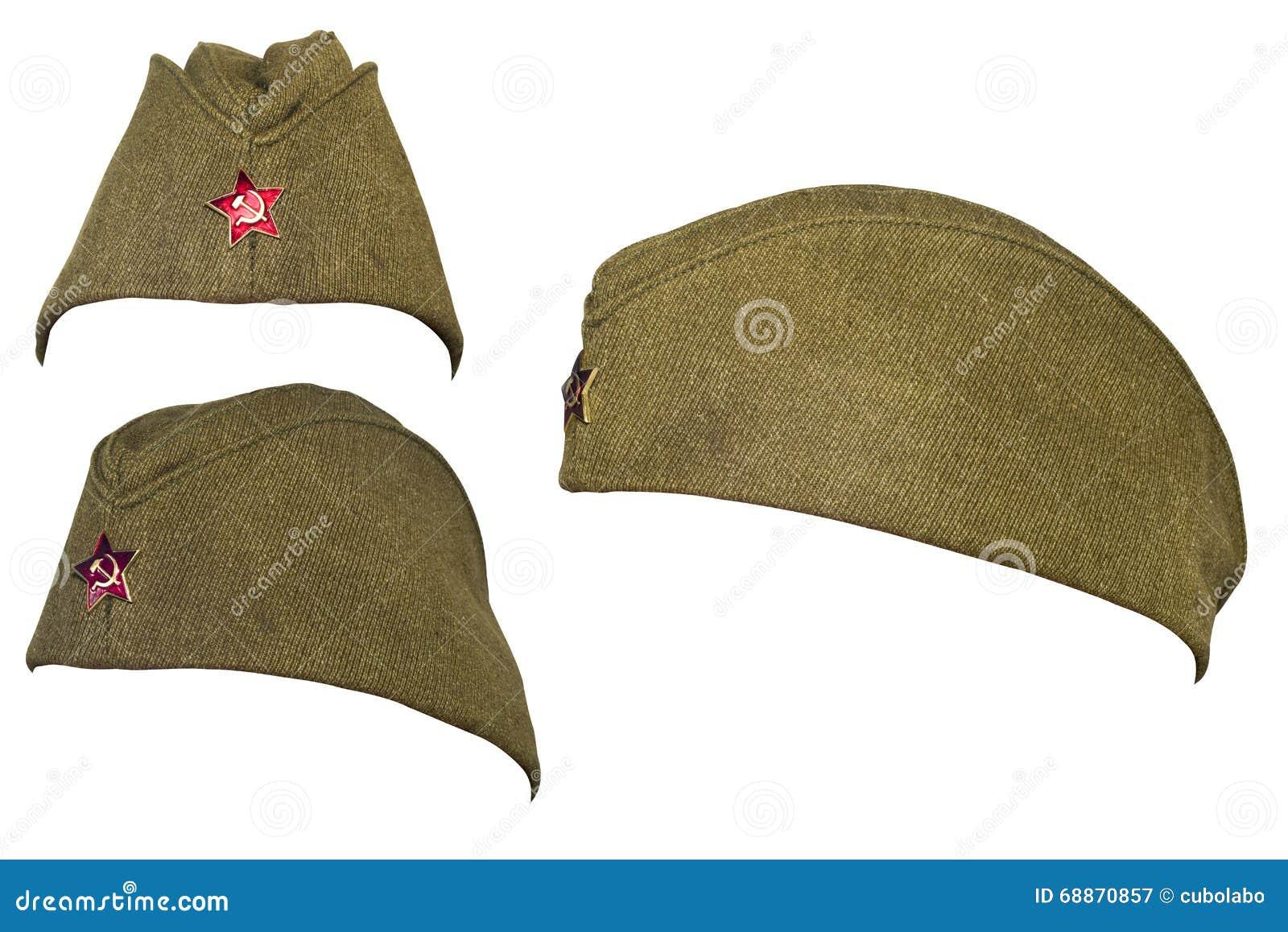 soldes officiel style classique de 2019 Chapeau De Soldat De L'armée Russe Dans La Période Du ...