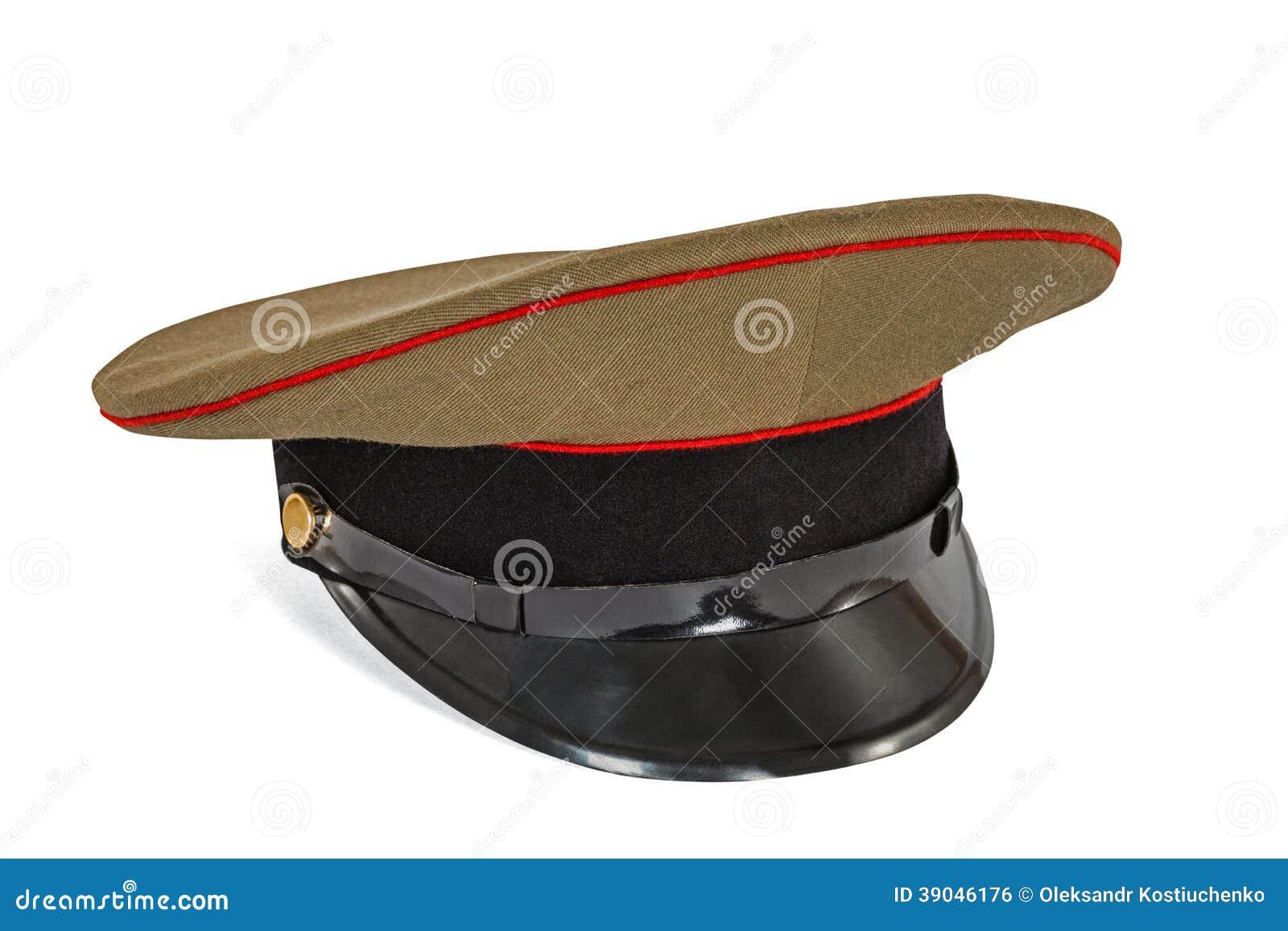 chaussures authentiques gamme exclusive grande remise Chapeau Fait Une Pointe L'armée De Soldat Photo stock ...