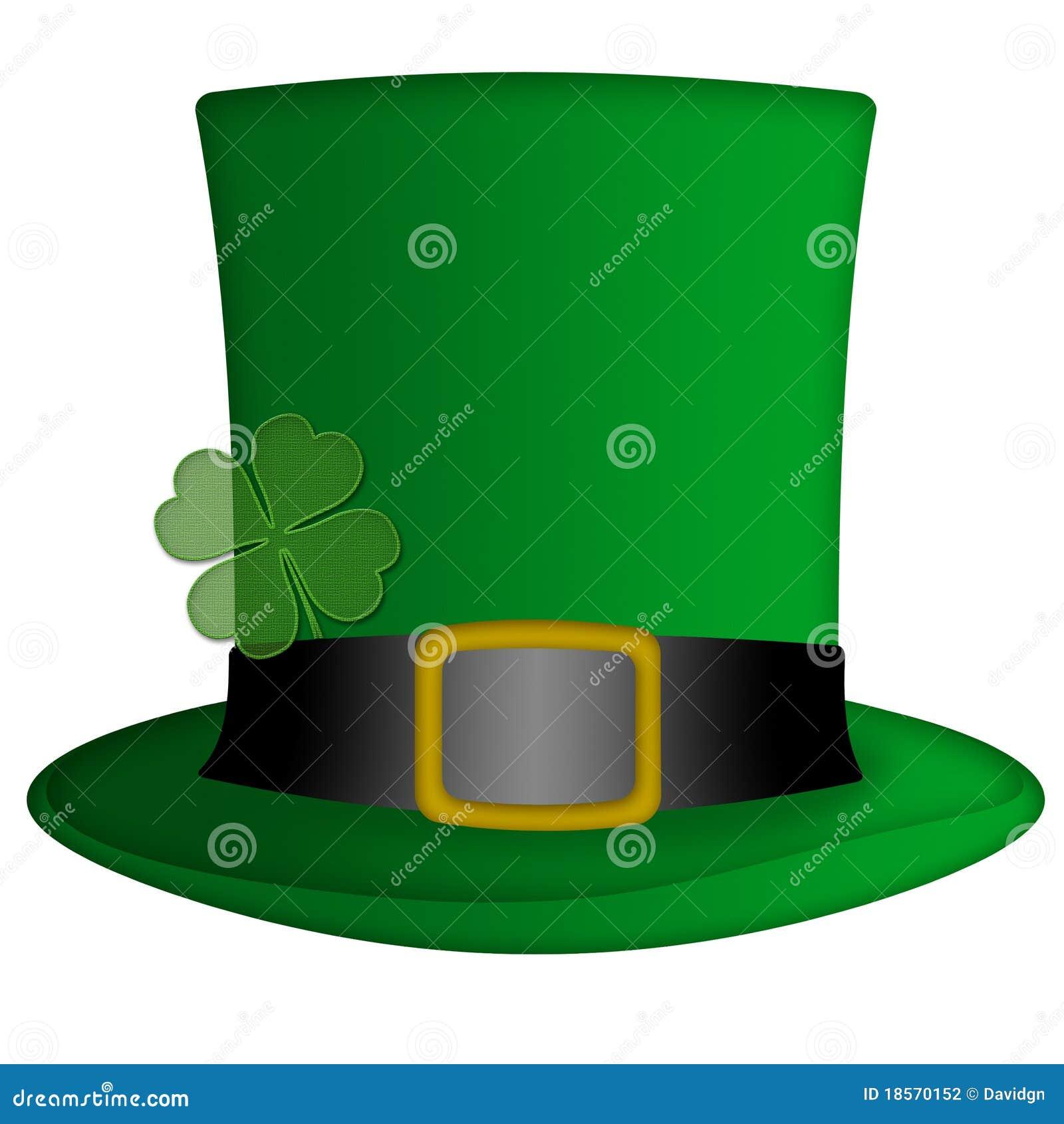 chapeau irlandais de lutin de jour de rue patricks illustration stock illustration du vert. Black Bedroom Furniture Sets. Home Design Ideas