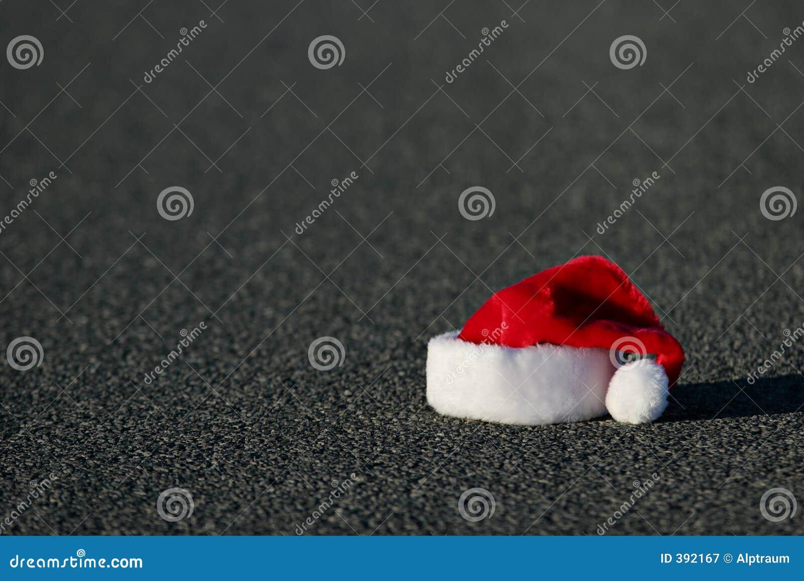 Chapeau perdu de Santa