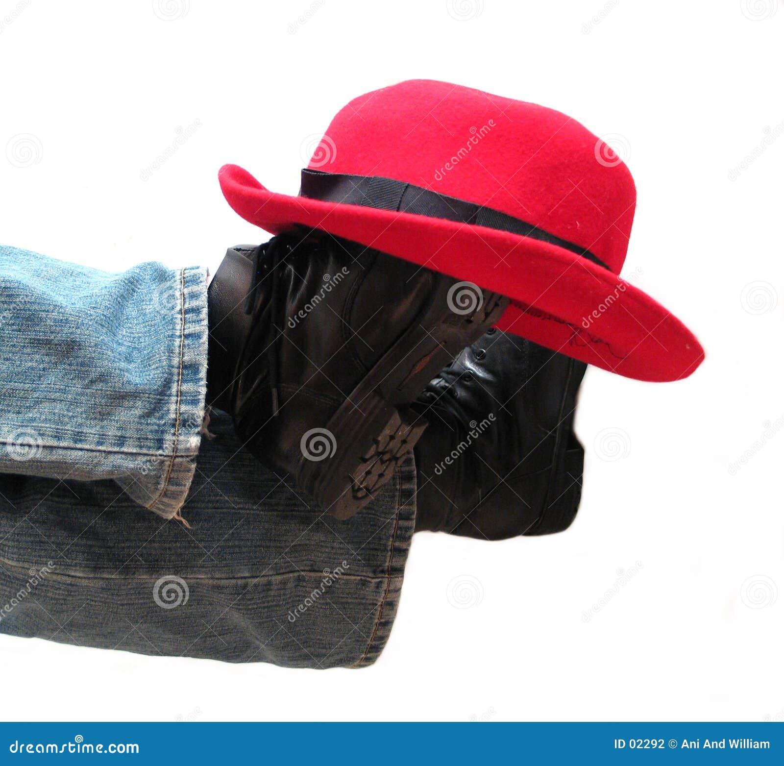 Chapeau sur des gaines