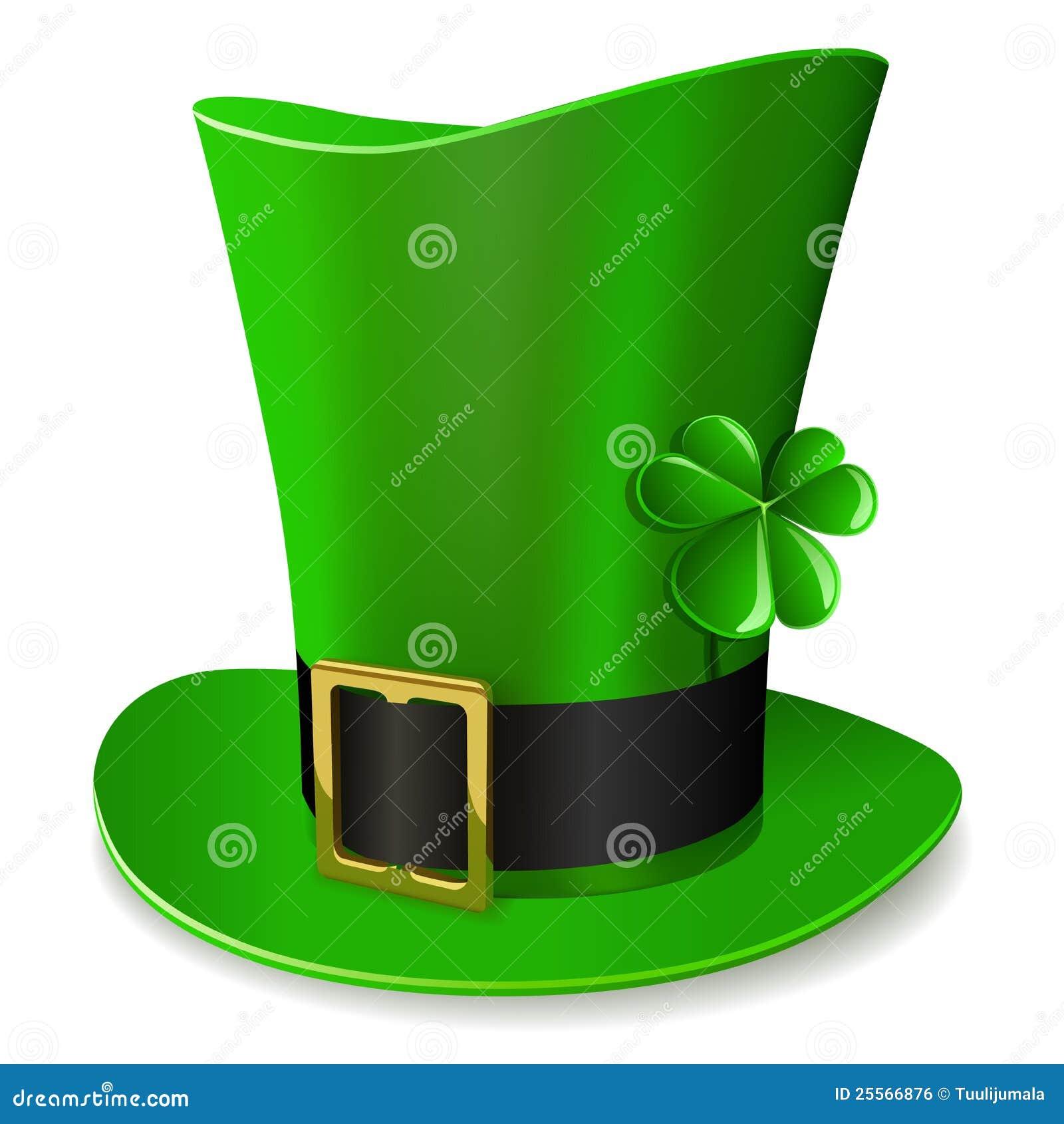 chapeau vert de lutin illustration de vecteur image du chapeau 25566876. Black Bedroom Furniture Sets. Home Design Ideas