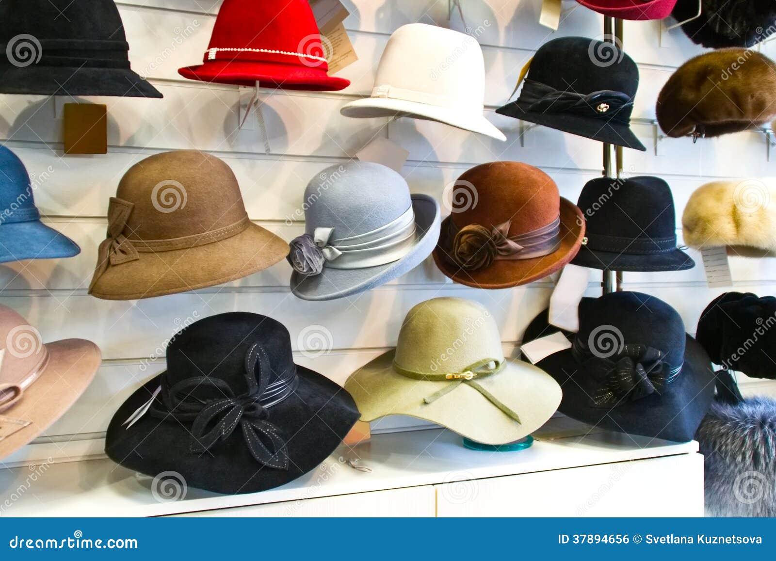 Chapeaux de feutre de femmes