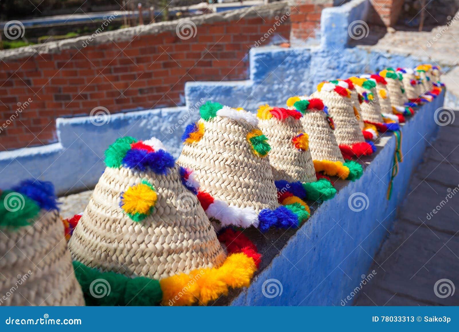 Chapeaux traditionnels de berber