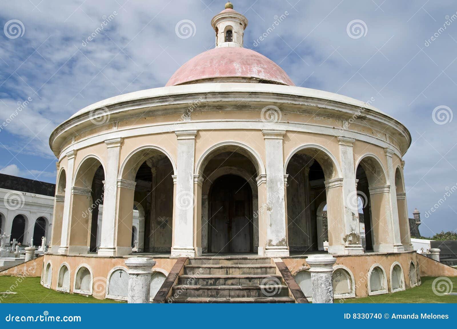 Chapel in cemetary.