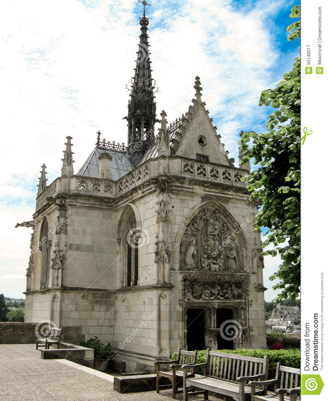 chapel of saint-hubert stock image  image of chapel  king
