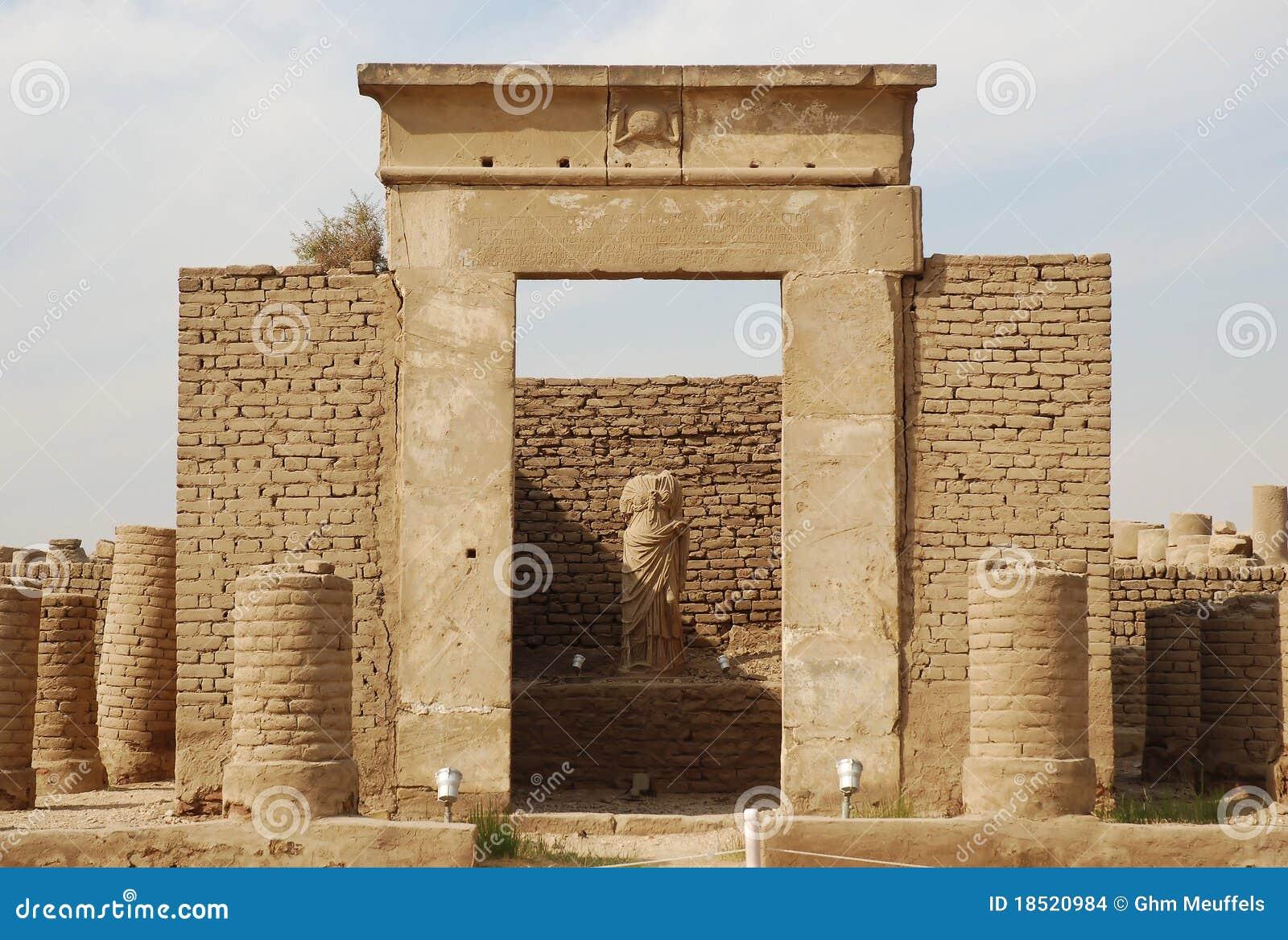 Chapel of Sarapis, Luxor Temple, Egypt