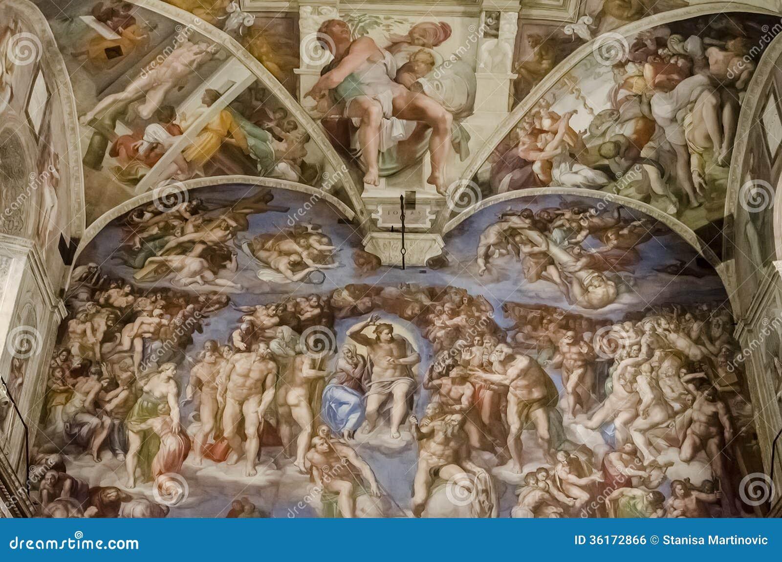 Chapelle de Sistine à Vatican