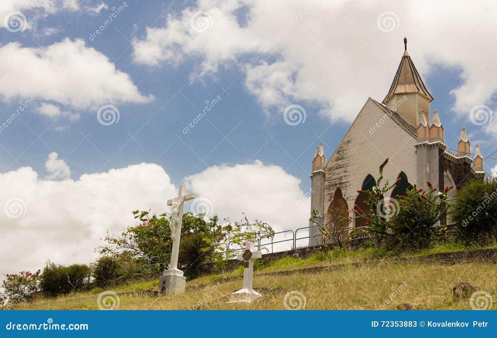 Chapelle du Calvaire,堡垒de法国,马提尼克岛海岛