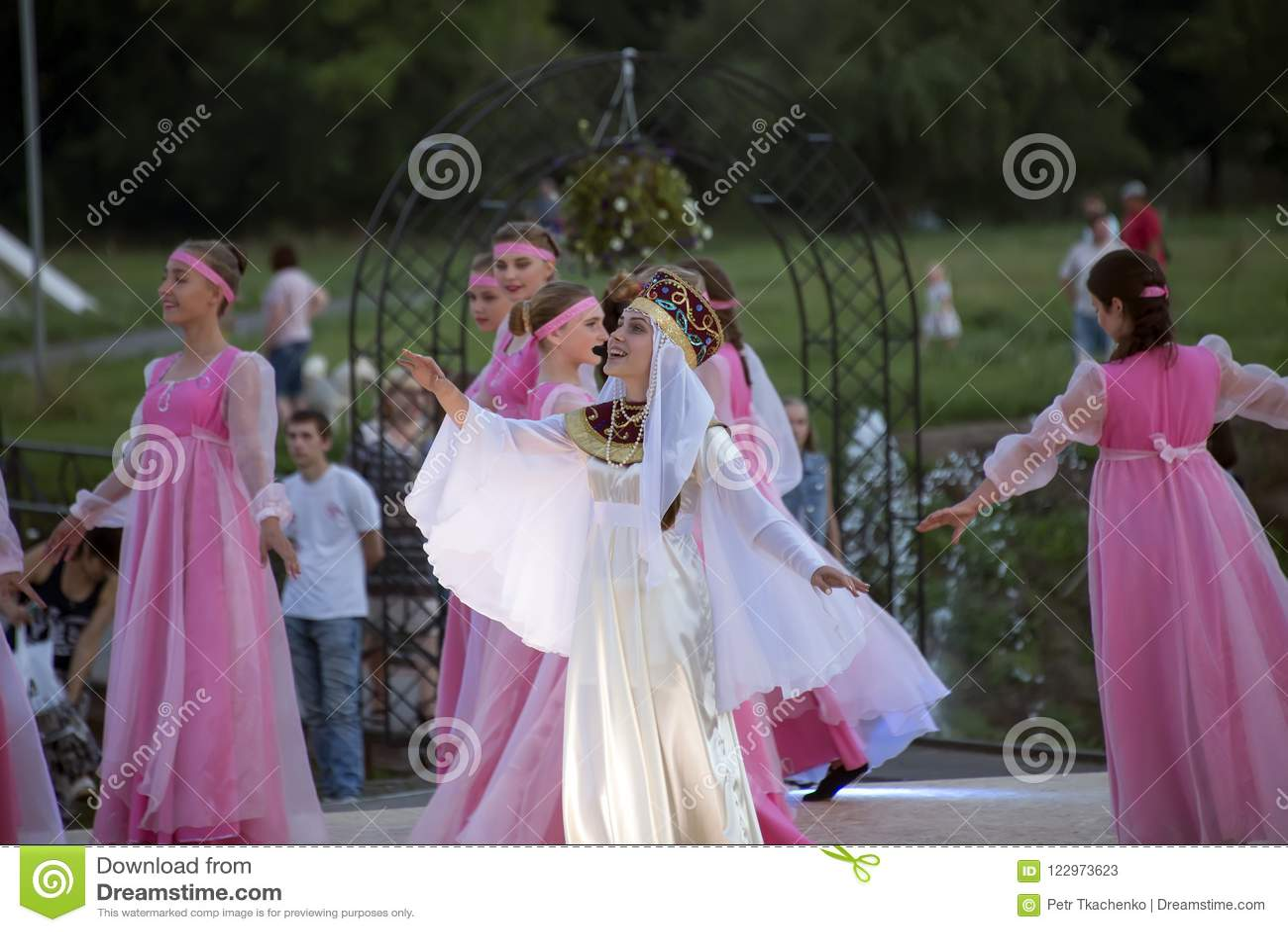 Chaplygin, Lipetsk Region, July 27, 2018 Year  Celebration Of The