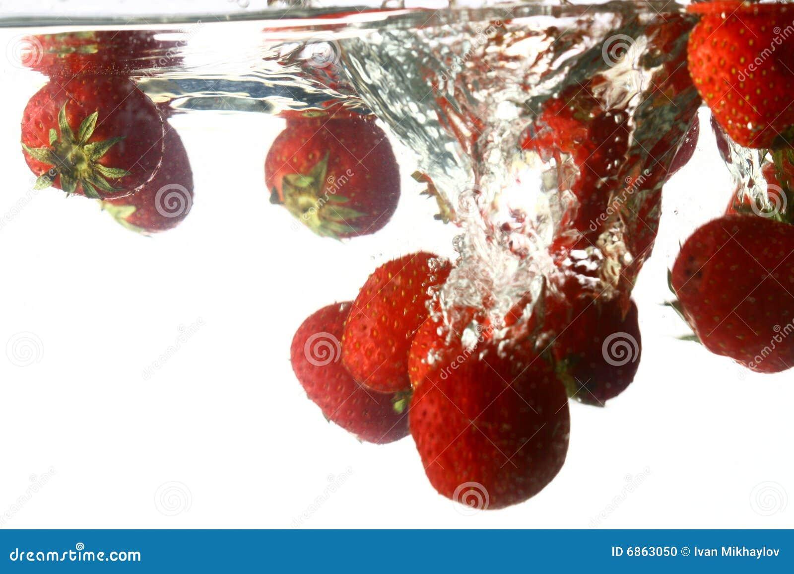Chapoteo de la fresa