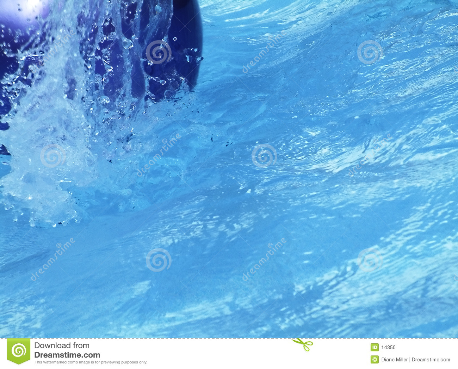 Chapoteo de la piscina