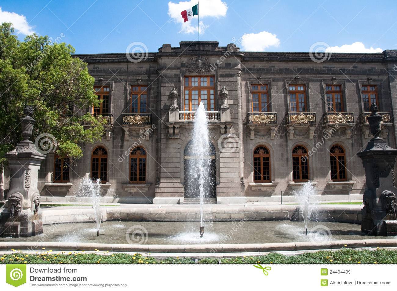 Chapultepec Castle, Mexico City Royalty Free Stock Images - Image ...