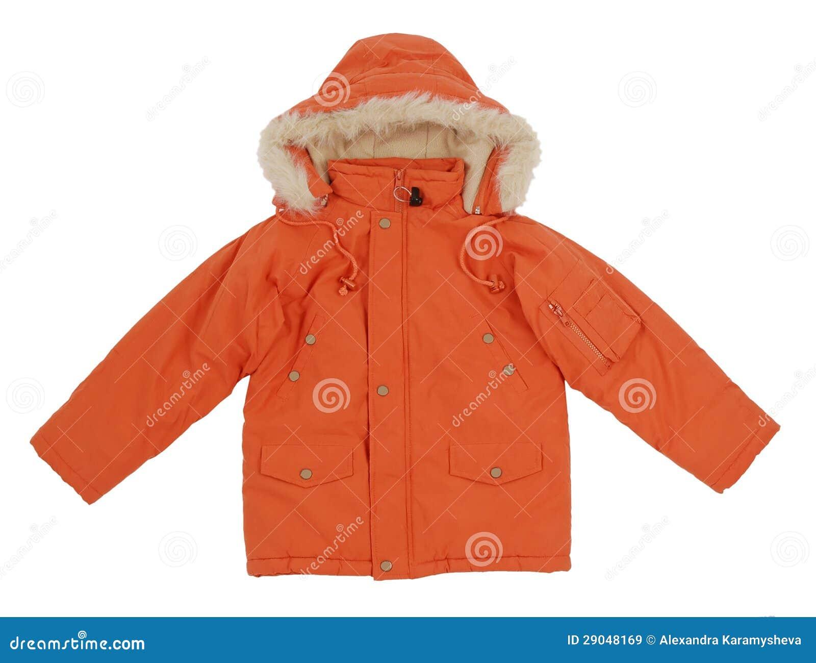 Chaqueta anaranjada