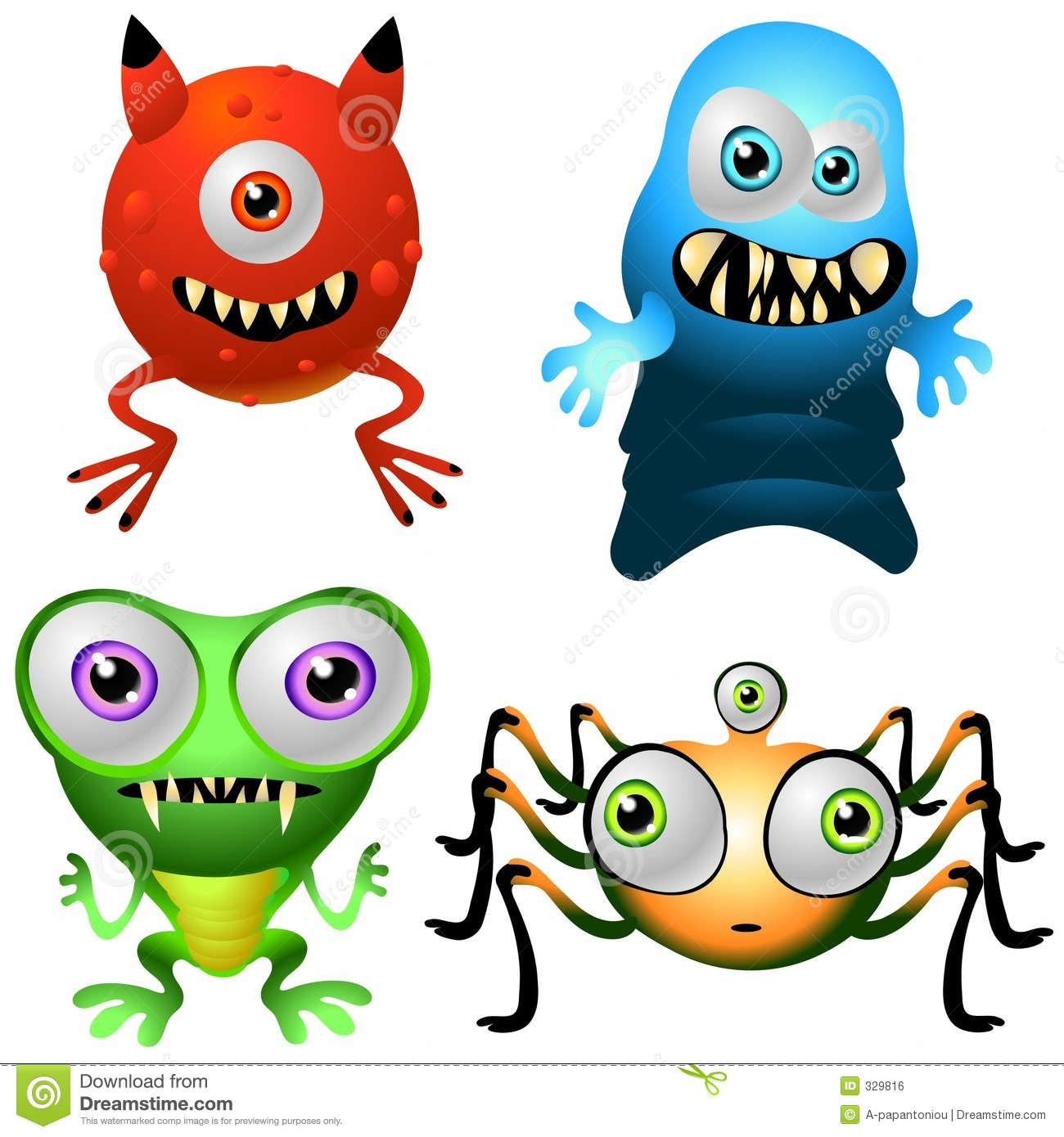 Character Design Collection 013: Baby Monsters